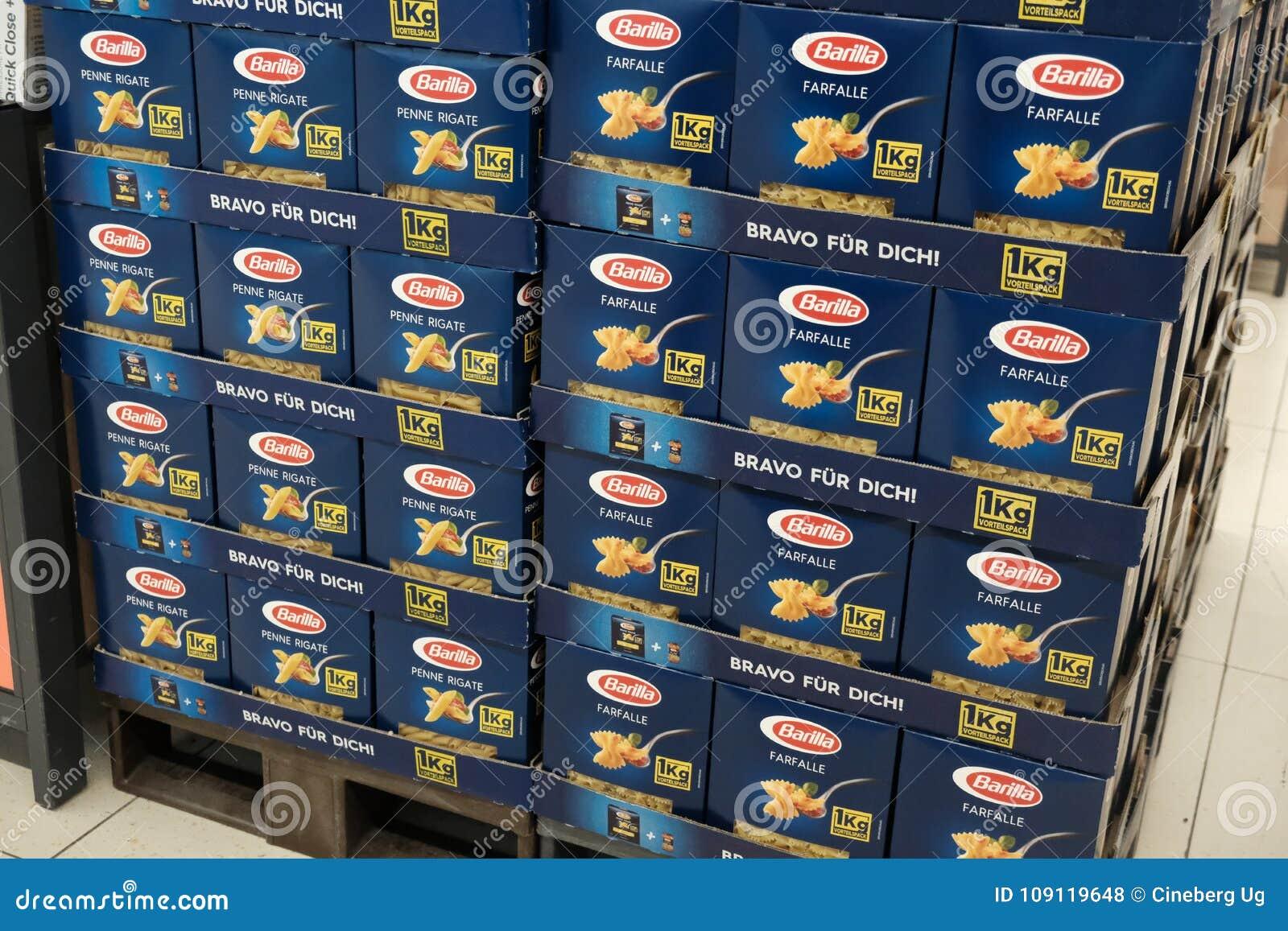 Макаронные изделия итальянки Barilla