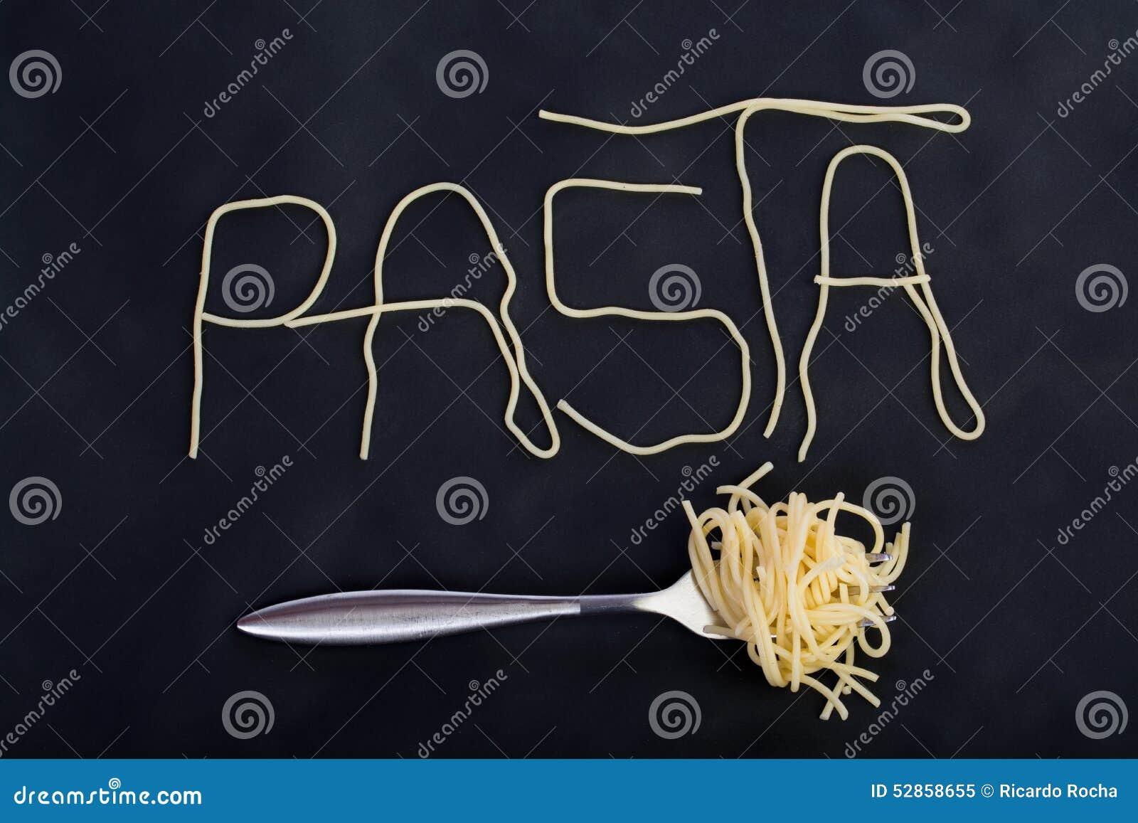 Макаронные изделия слова сделанные sapghetti