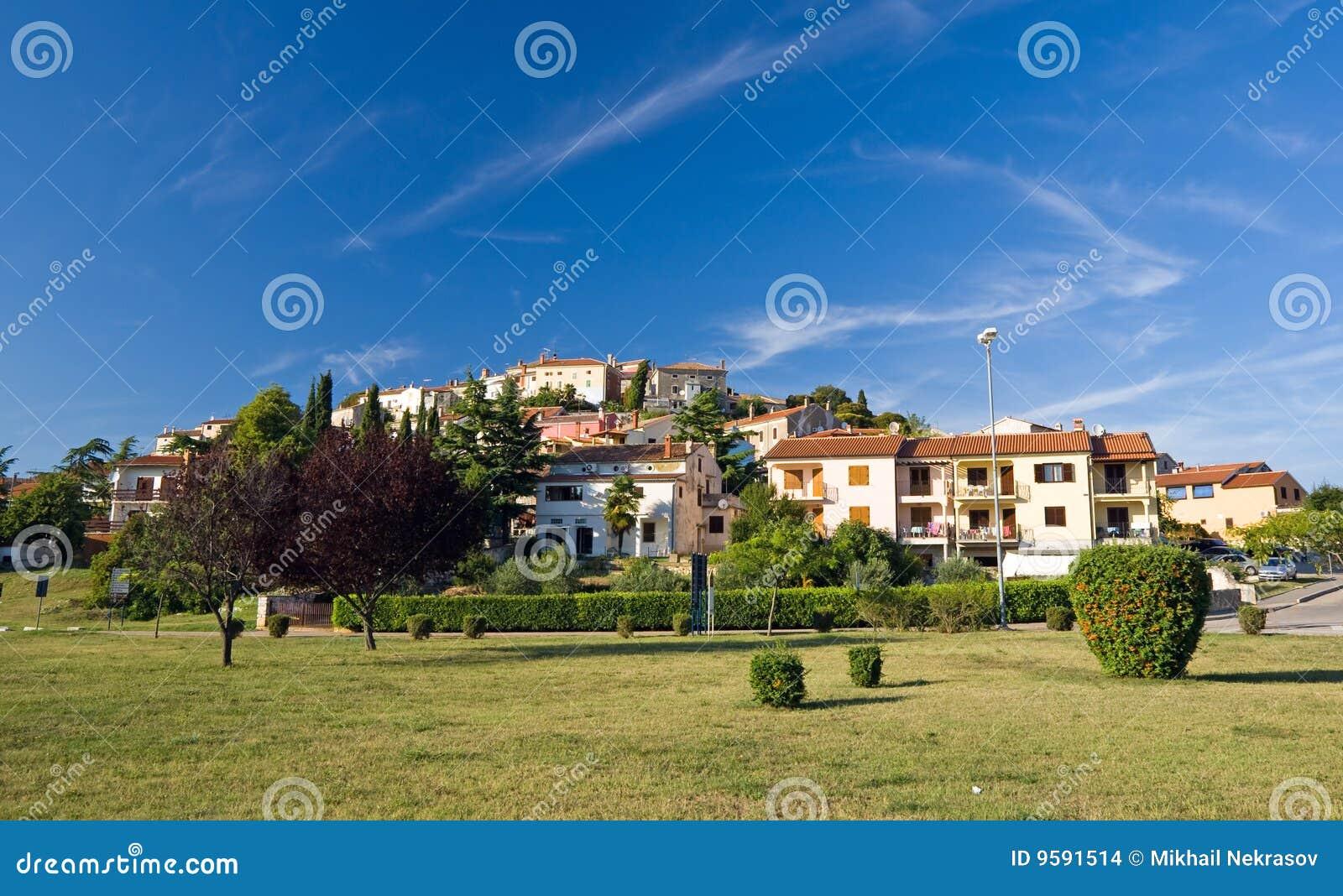 маленький город vrsar