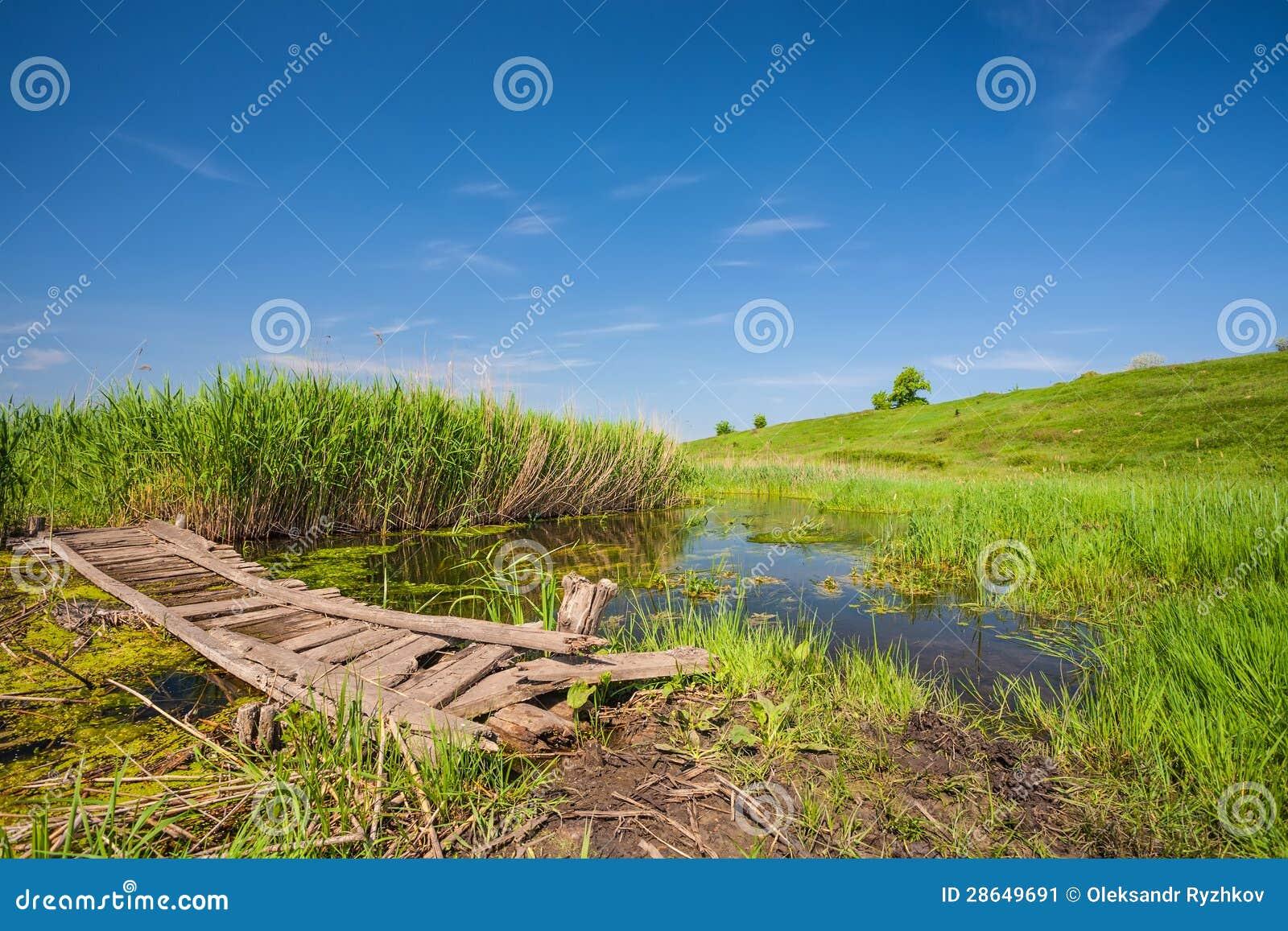 Малый деревянный мост