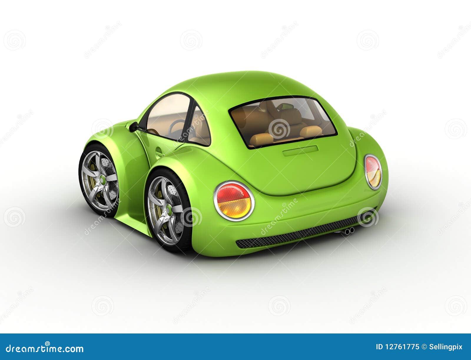 малюсенькое автомобиля зеленое