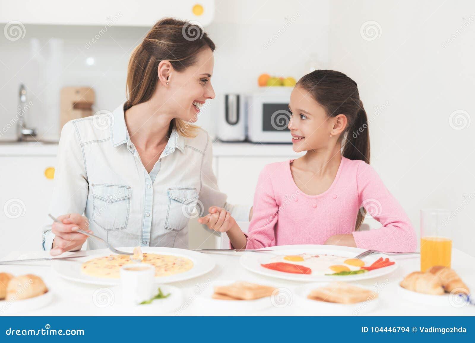 завтрак для дочери фото