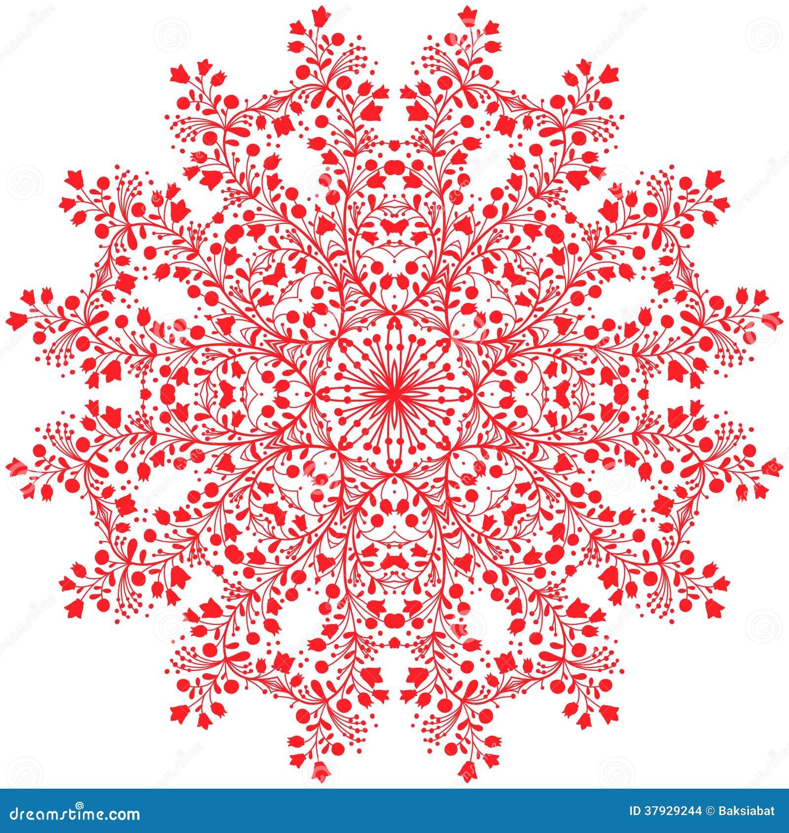 Мандала цветка