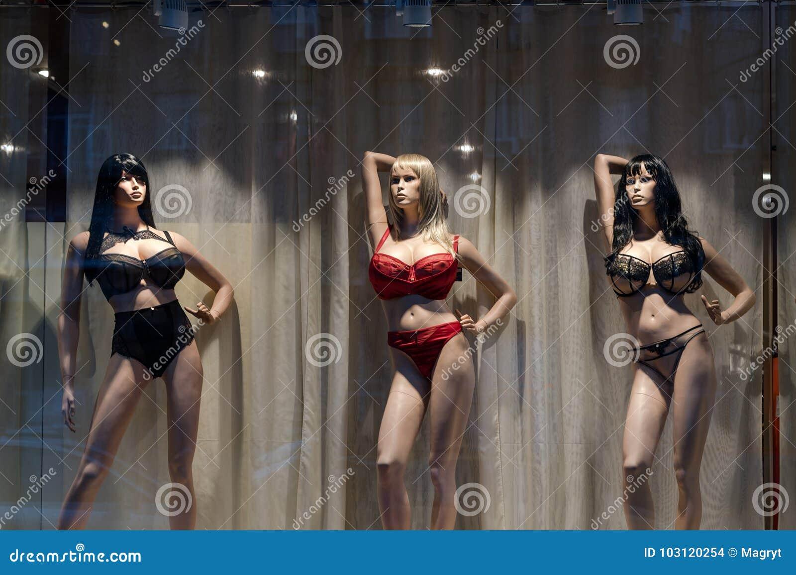 Манекен женское белье женского белья для мужчин