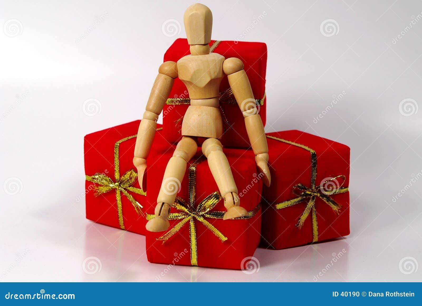 манекен подарков