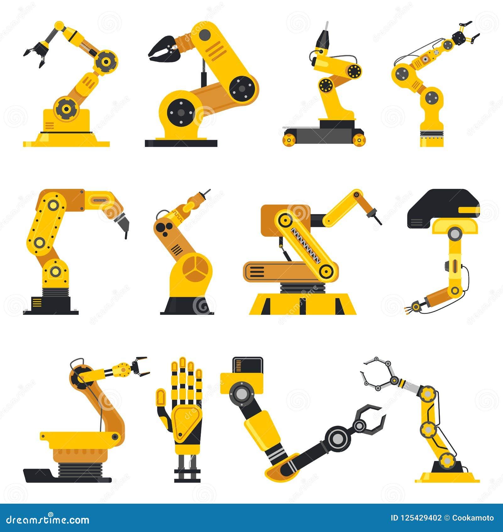 Манипулятор робота или механически рука