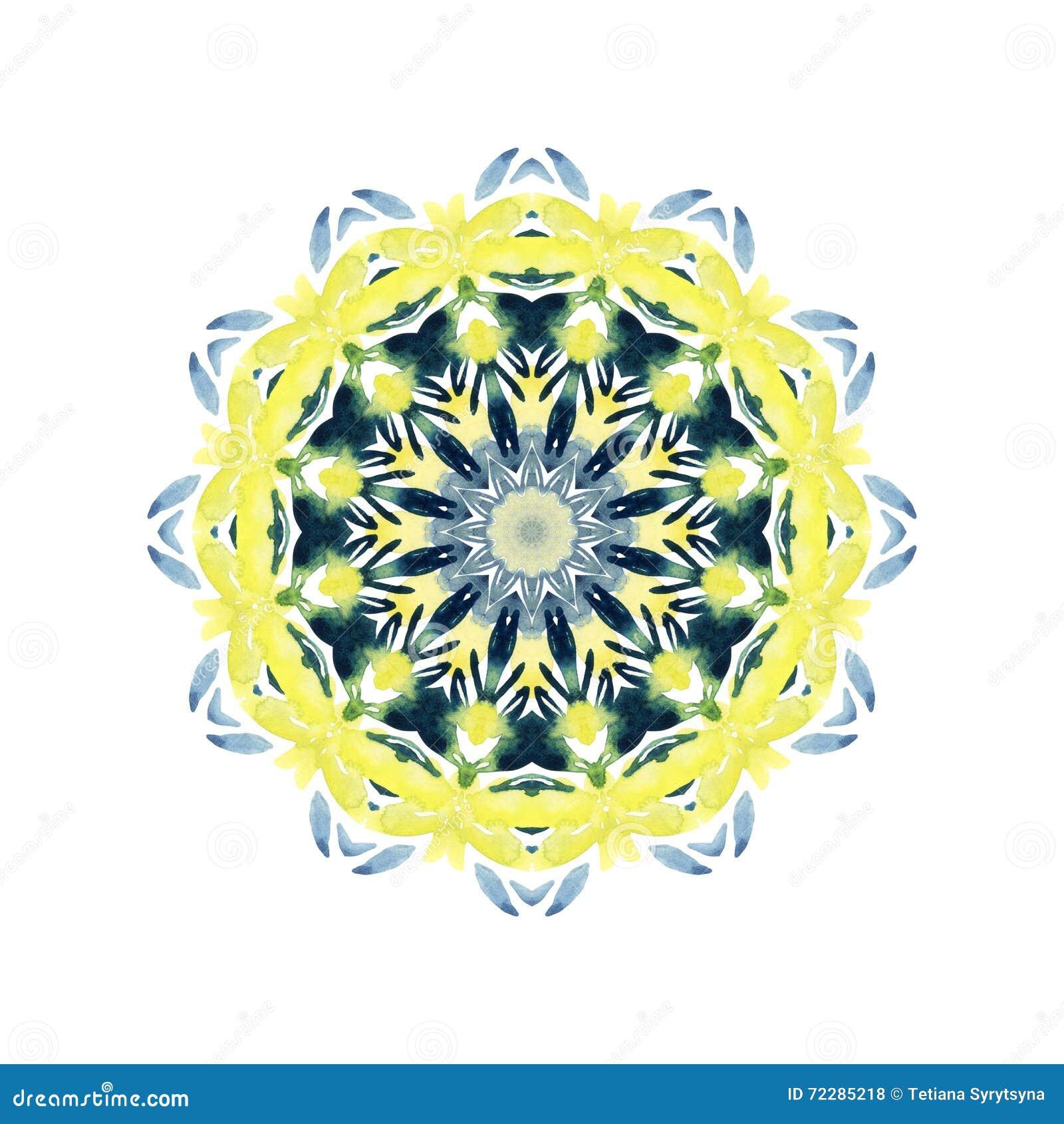 Download Мандала акварели абстрактная Естественный шнурок изолированный на белой предпосылке Иллюстрация штока - иллюстрации насчитывающей boris, изолировано: 72285218