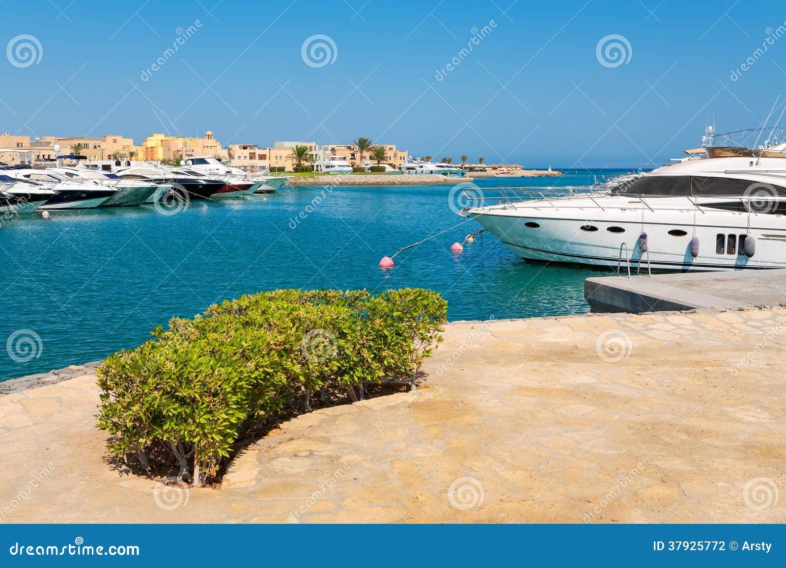 Марина. El Gouna, Египет