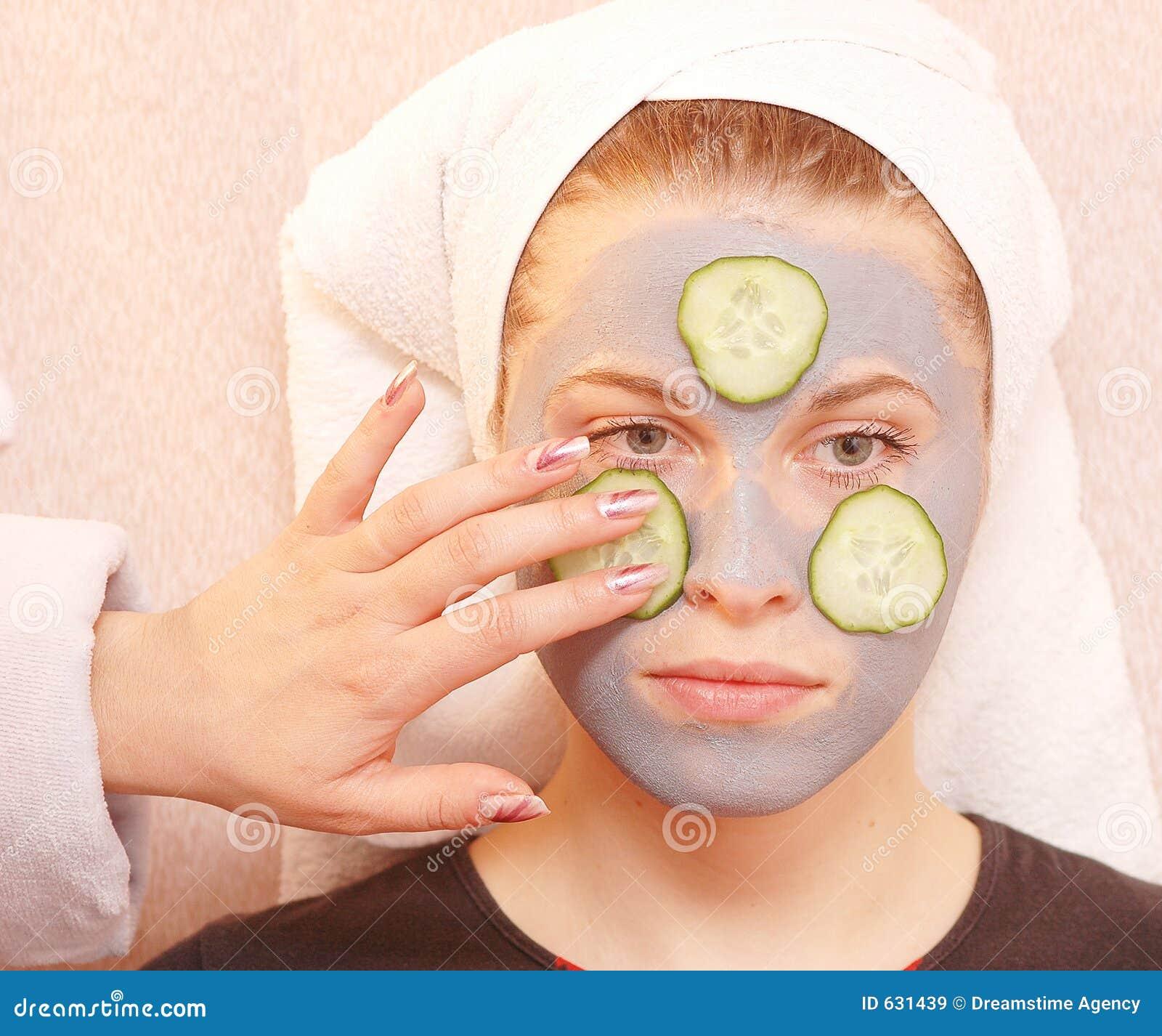 Download маска серого цвета огурца стоковое изображение. изображение насчитывающей губы - 631439