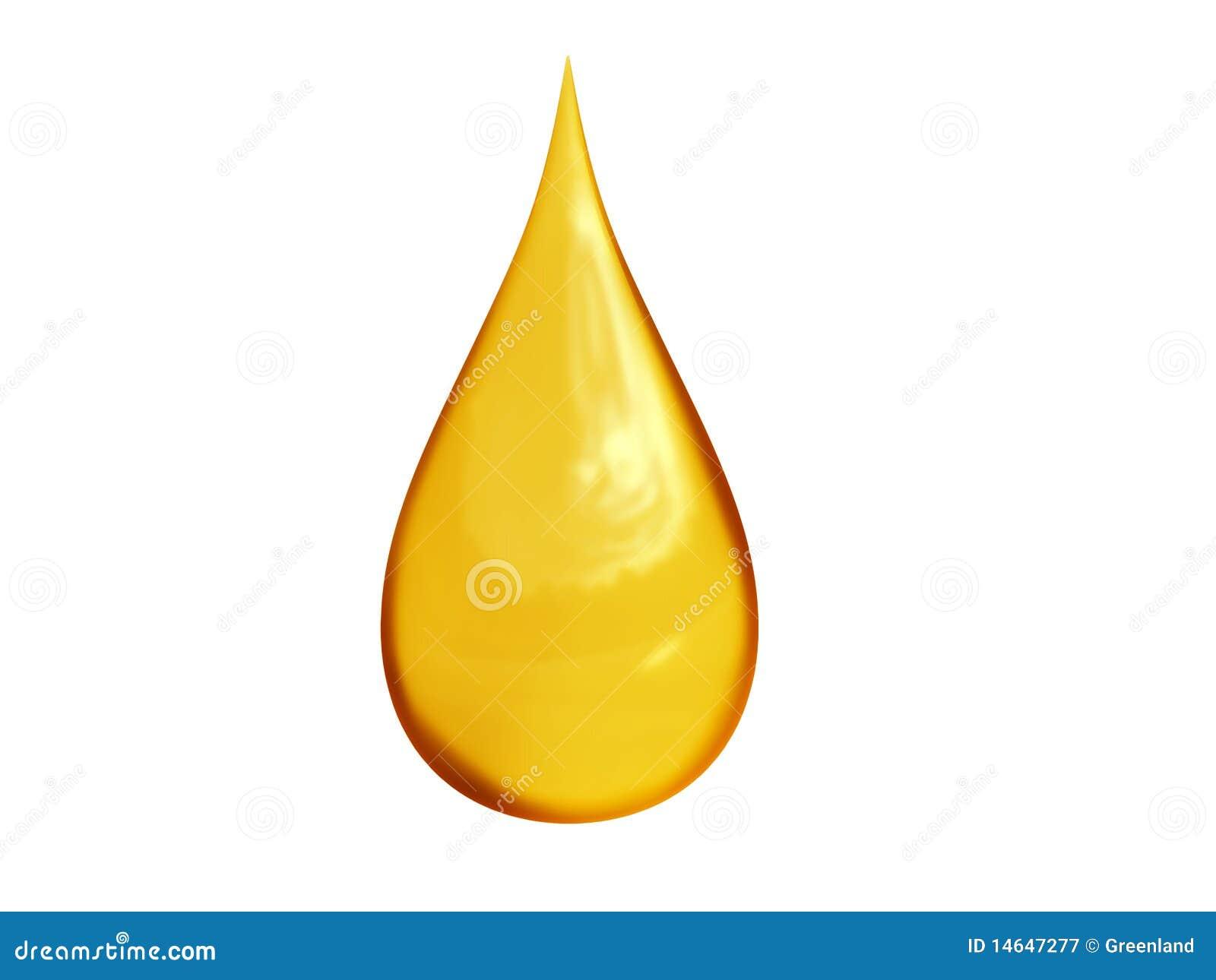 масло падения