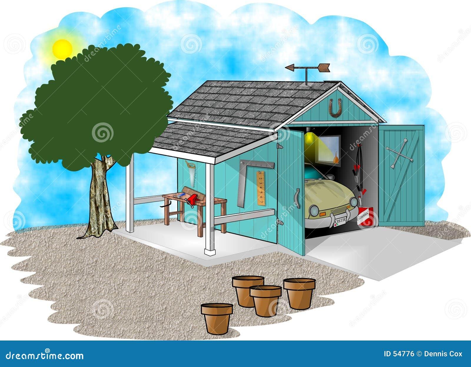мастерская гаража