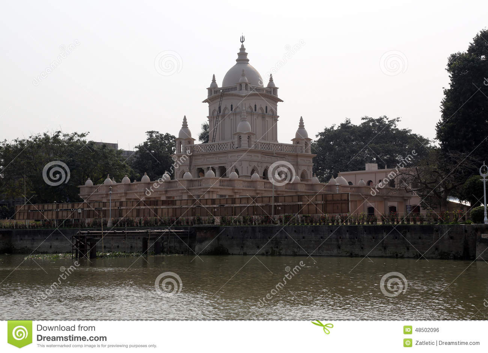 Математика Belur, штабы полета Ramakrishna в Kolkata