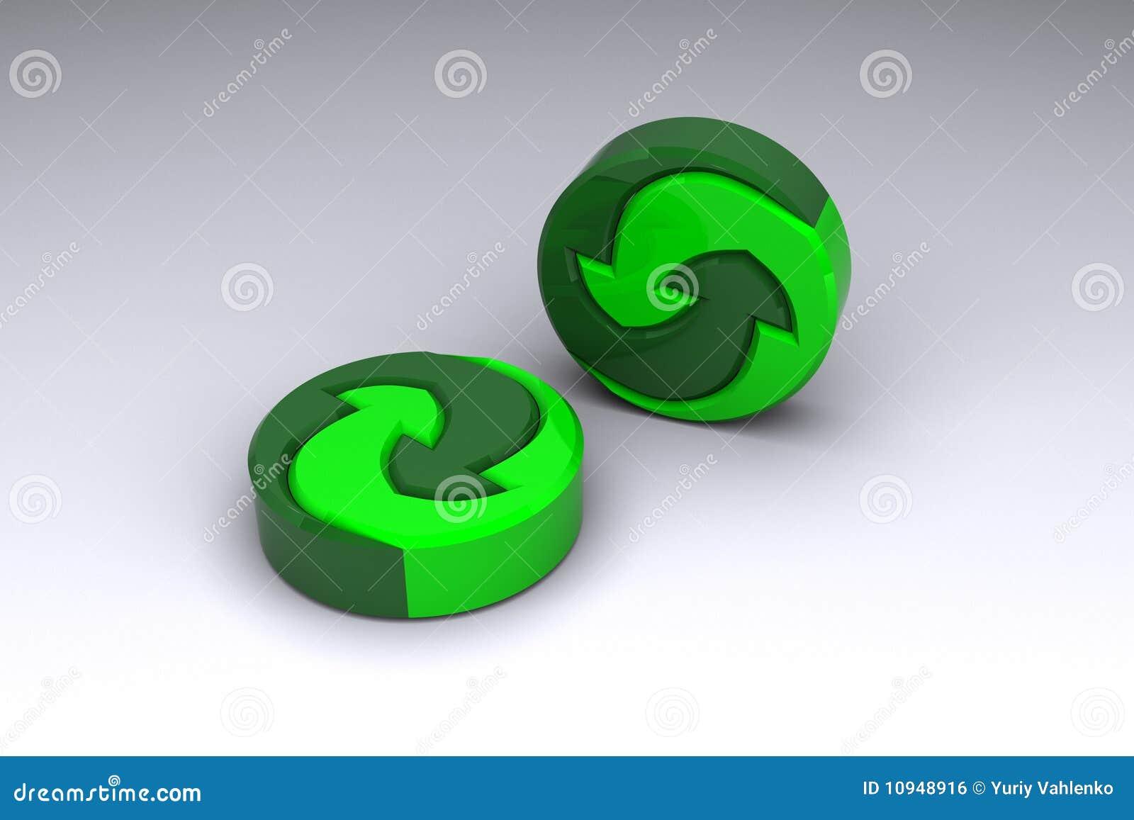 материалы логоса recyclable