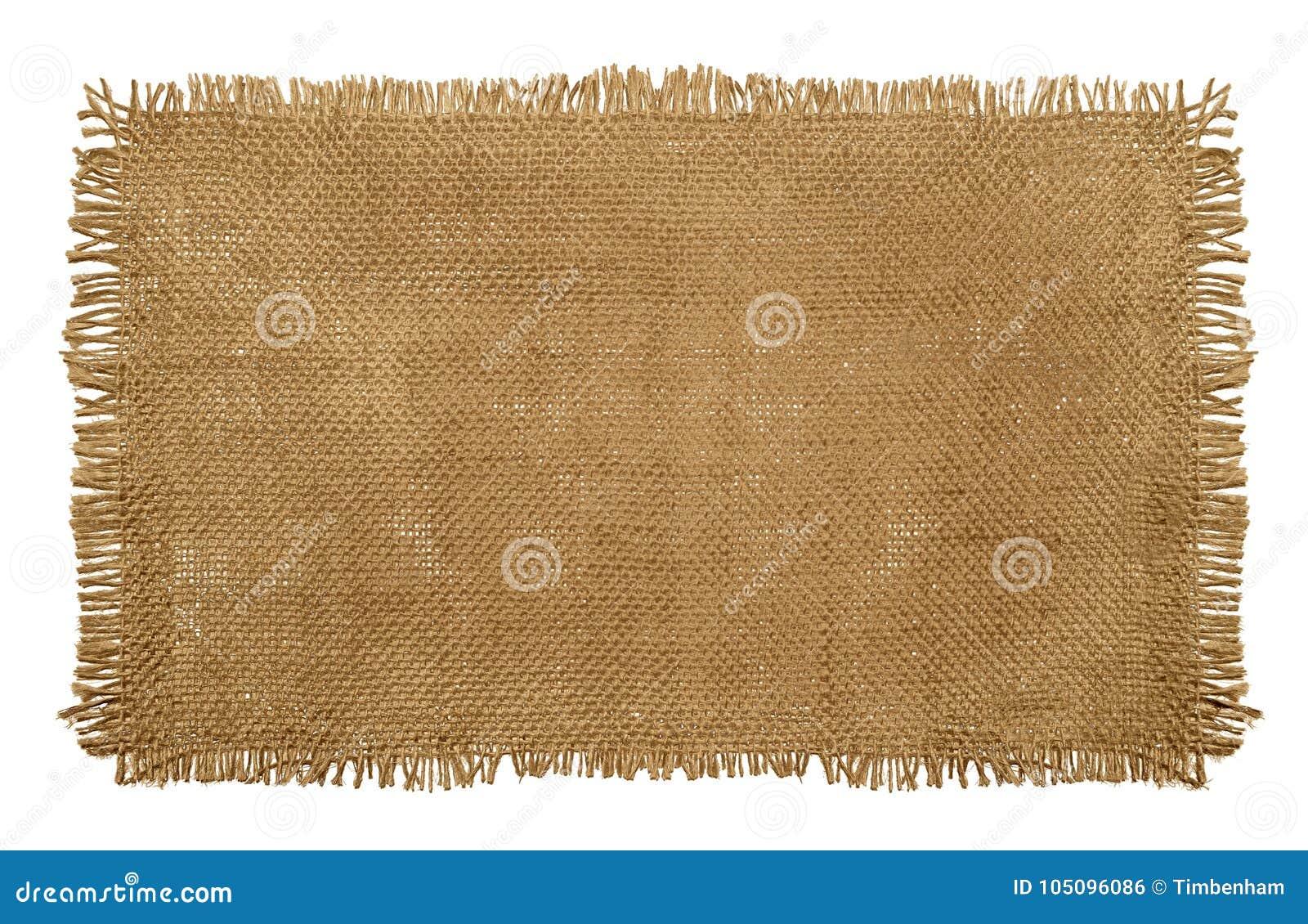 Материал мешка мешковины гессенский при worn изнашиваемые края изолированные дальше