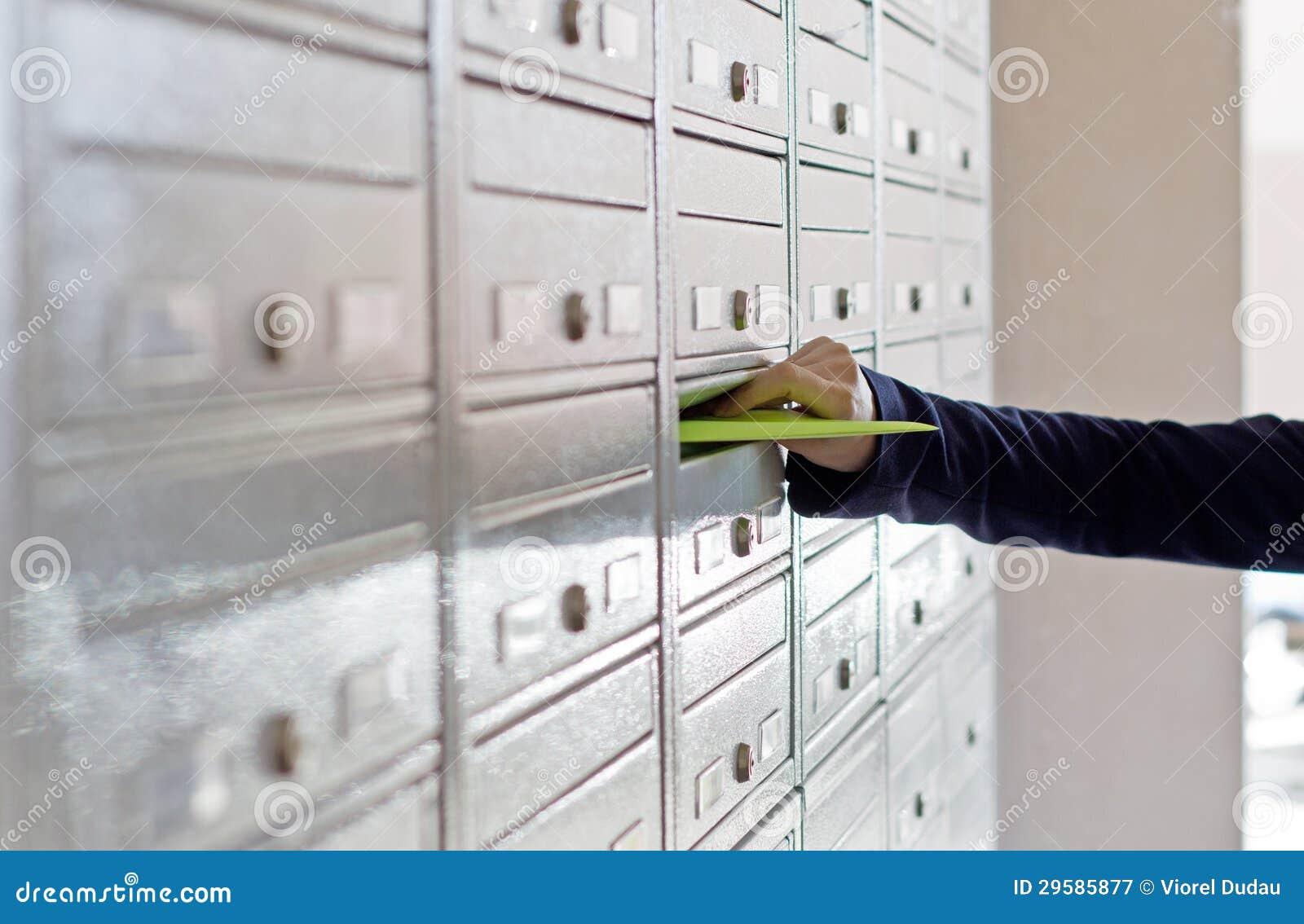 Материал рекламы в почтовом ящике