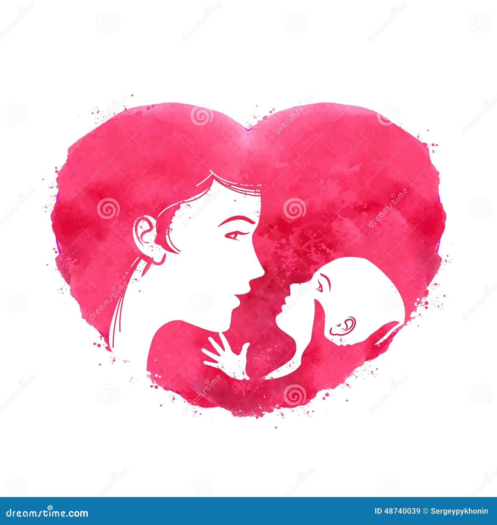 Эмблема матери и ребенка водка белые рыбы