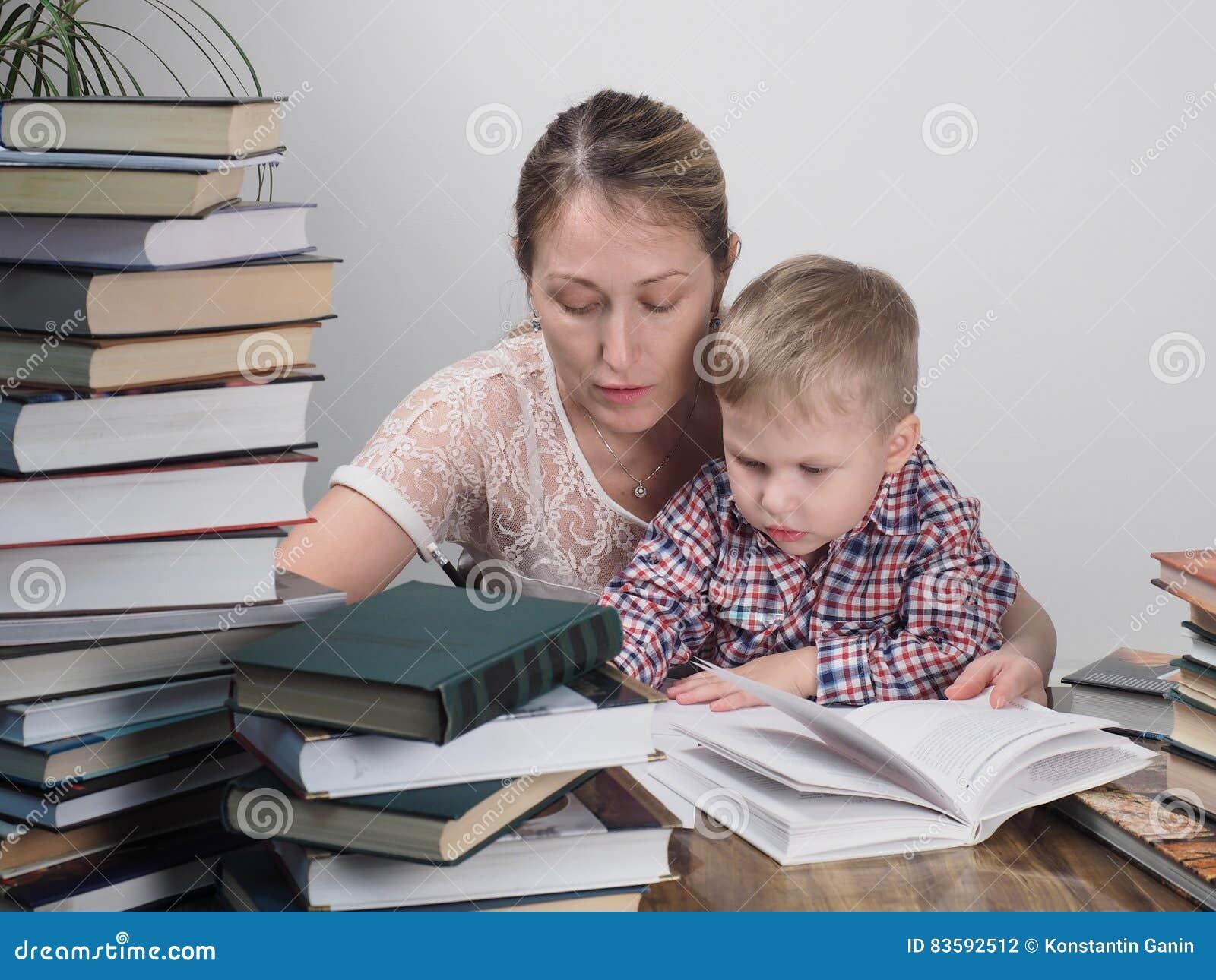 Отец с матерью учат hd