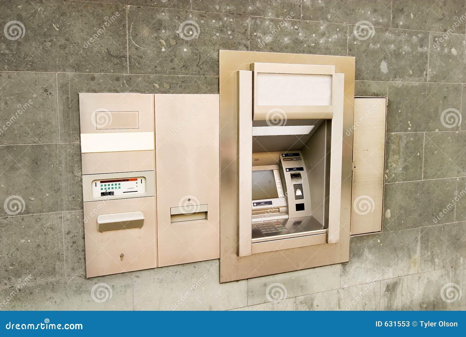 Download машина банка стоковое изображение. изображение насчитывающей машина - 631553