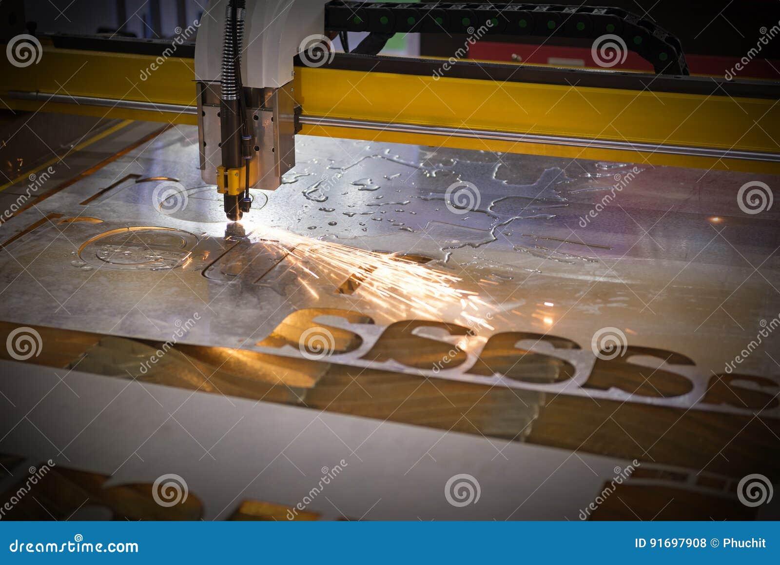 Машина отрезка лазера CNC