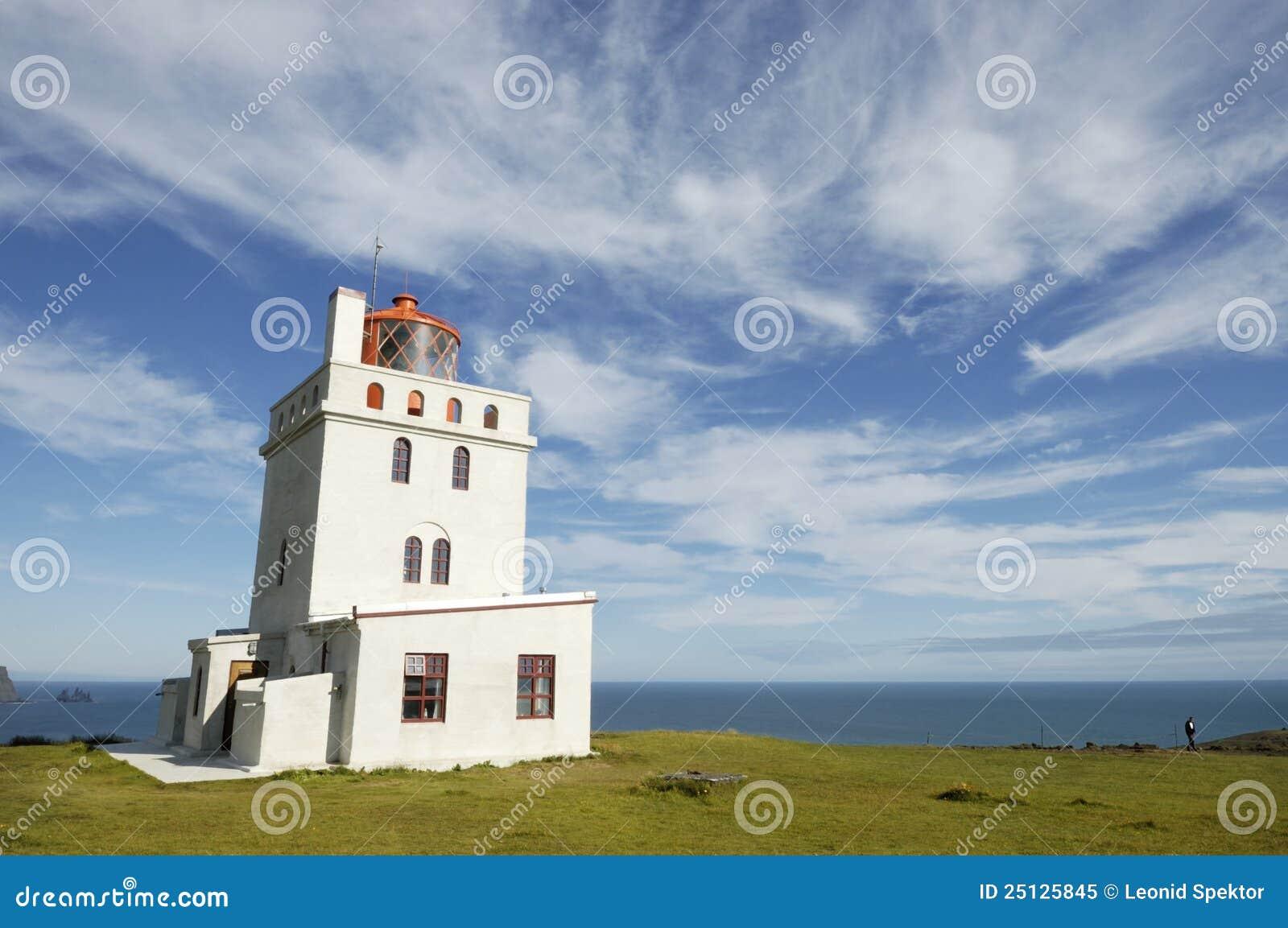 маяк Исландии dyrholaey