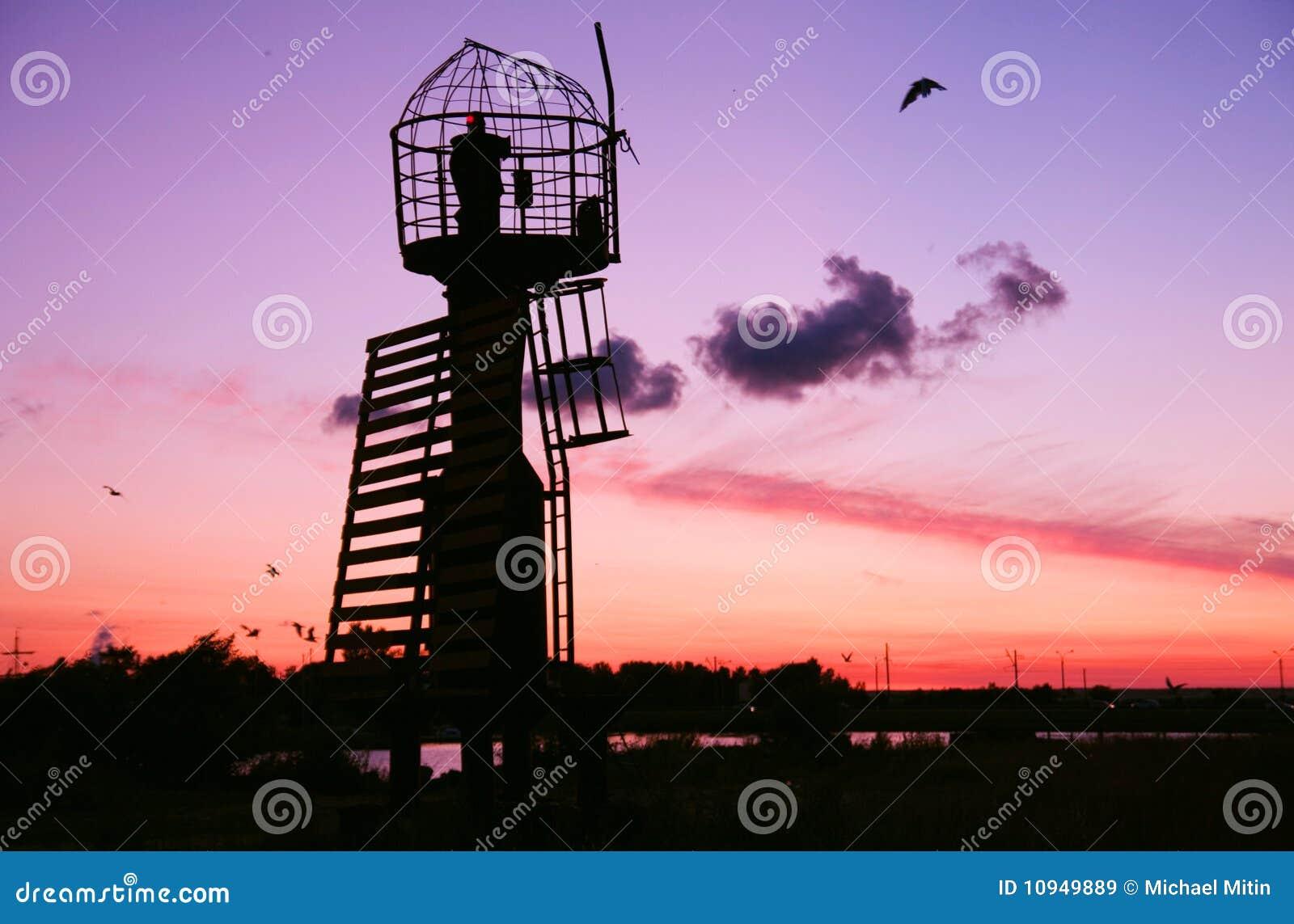 маяк утюга старый