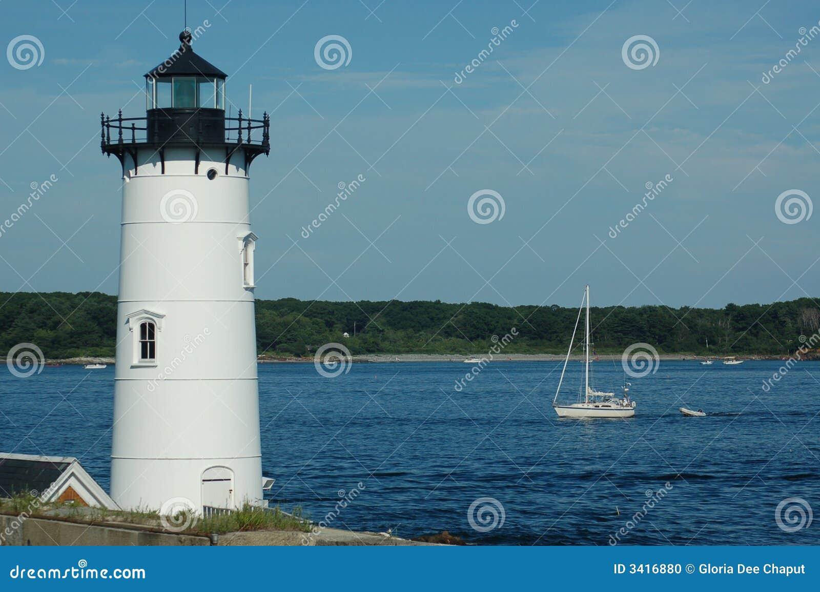 маяк portsmouth гавани
