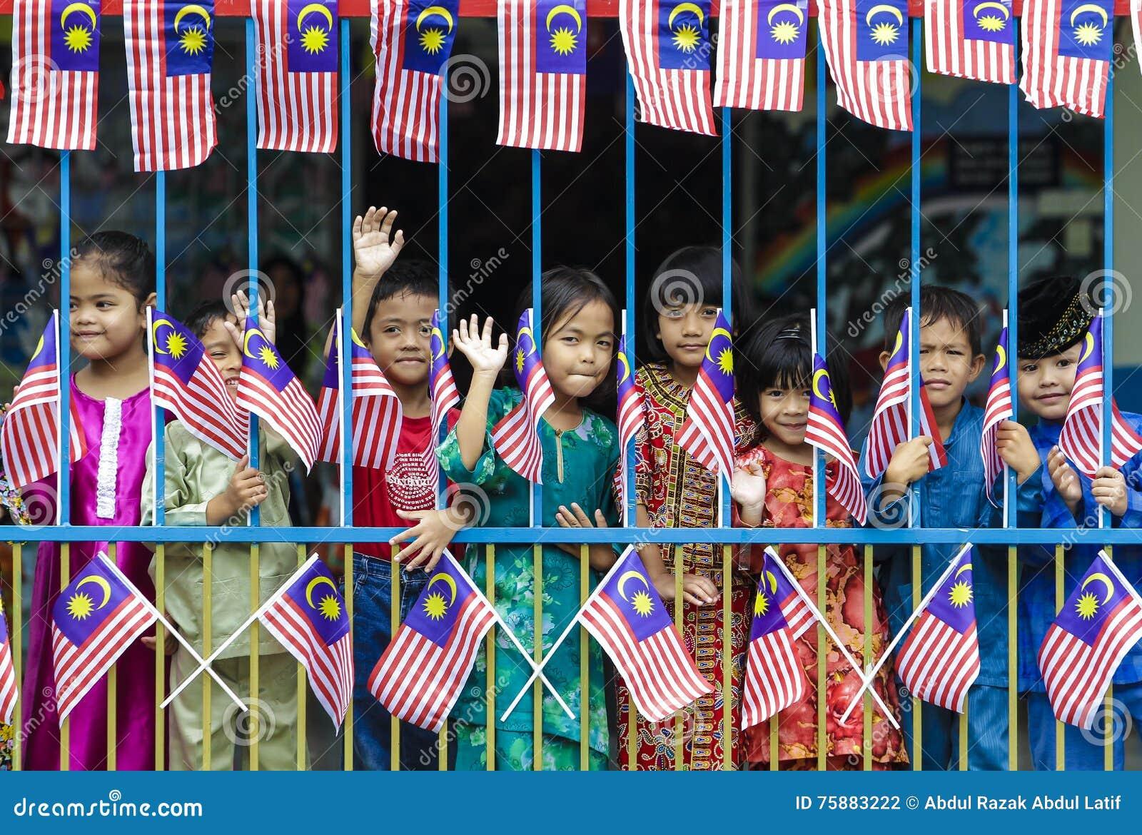 Малайзийские дети