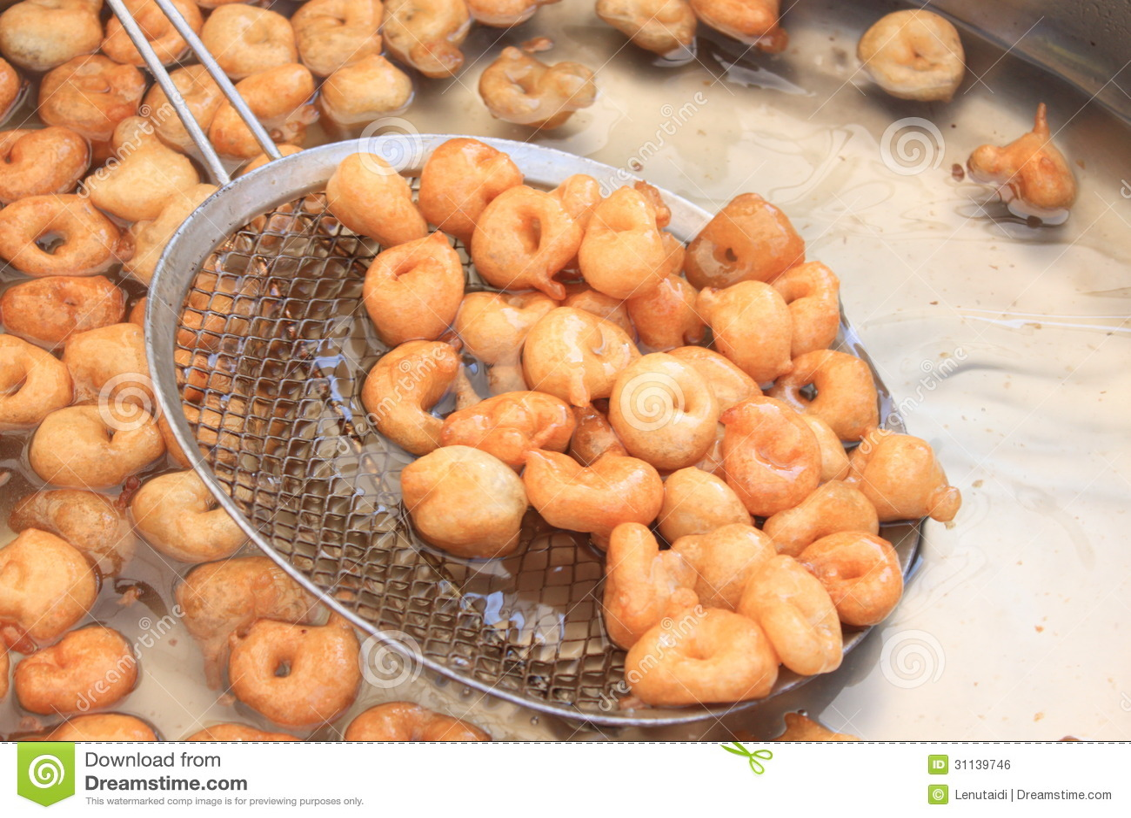 Маленькие donuts в масле