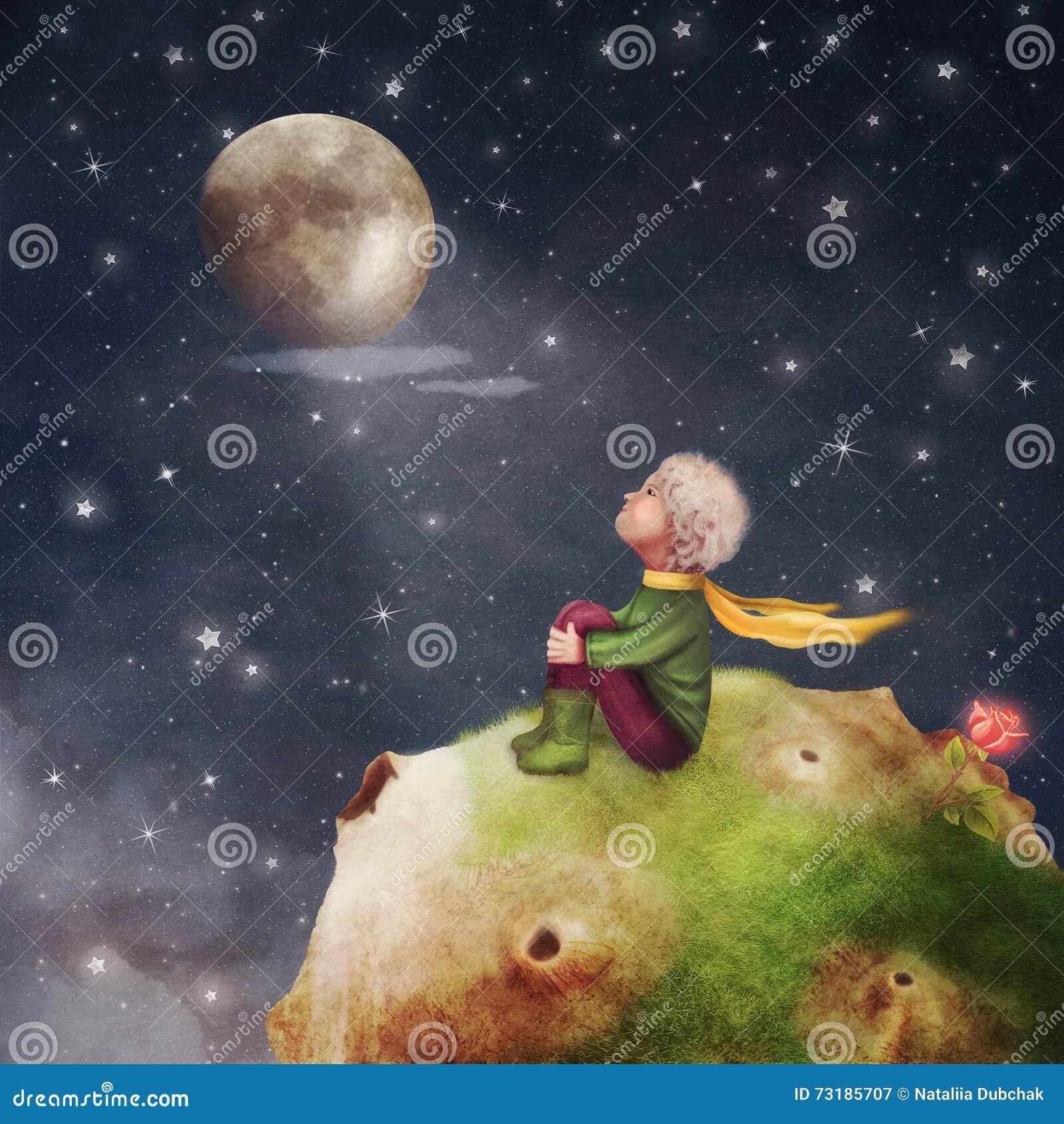 Картинки по запросу маленький принц иллюстрации