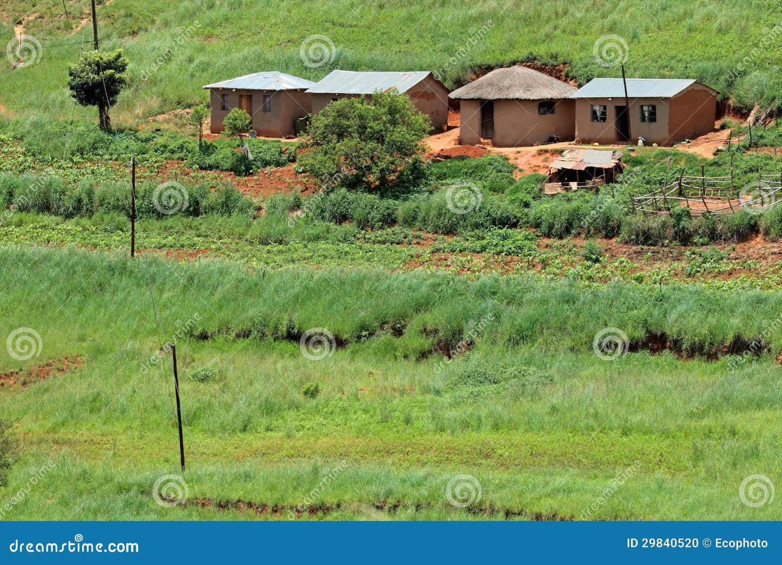 Сельский выселок, Южно-Африканская РеспублЍ