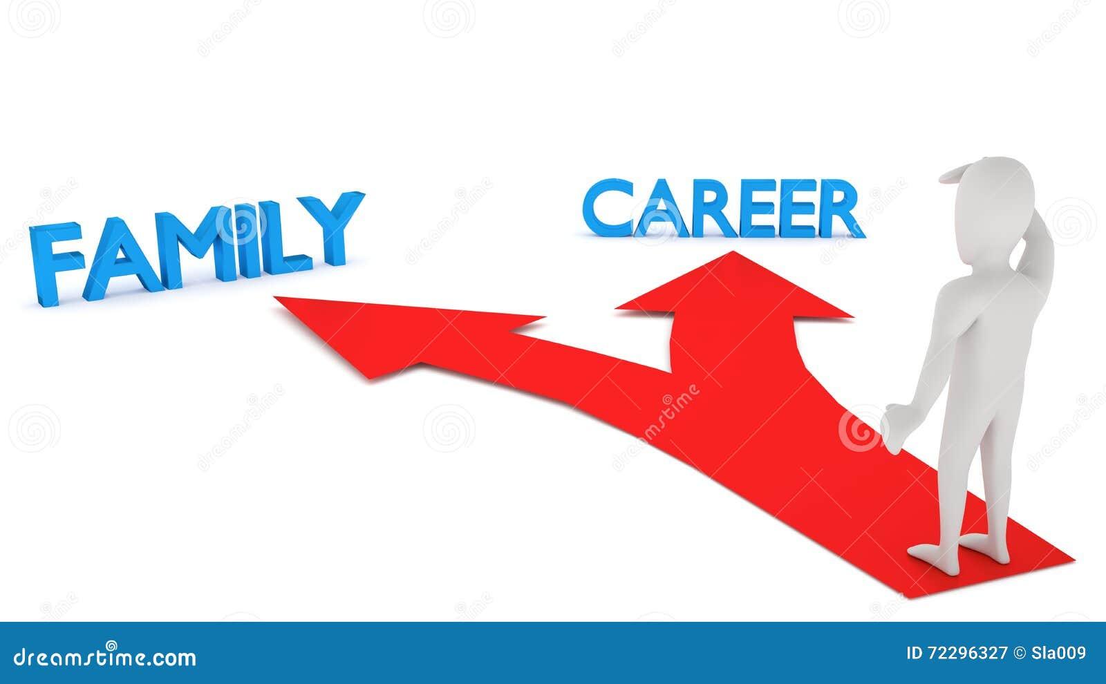 Download малые люди 3d - сделайте ваше Choise Иллюстрация штока - иллюстрации насчитывающей конспектов, семья: 72296327