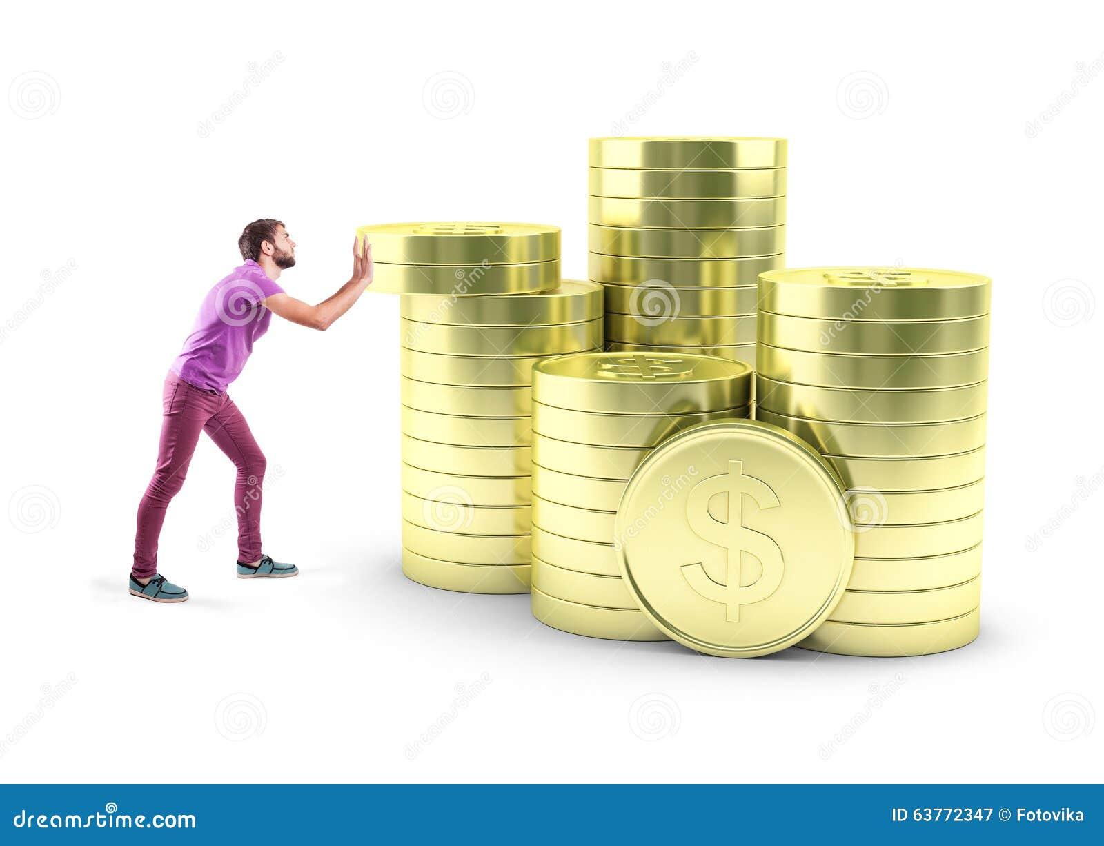 Мальчик с монетками