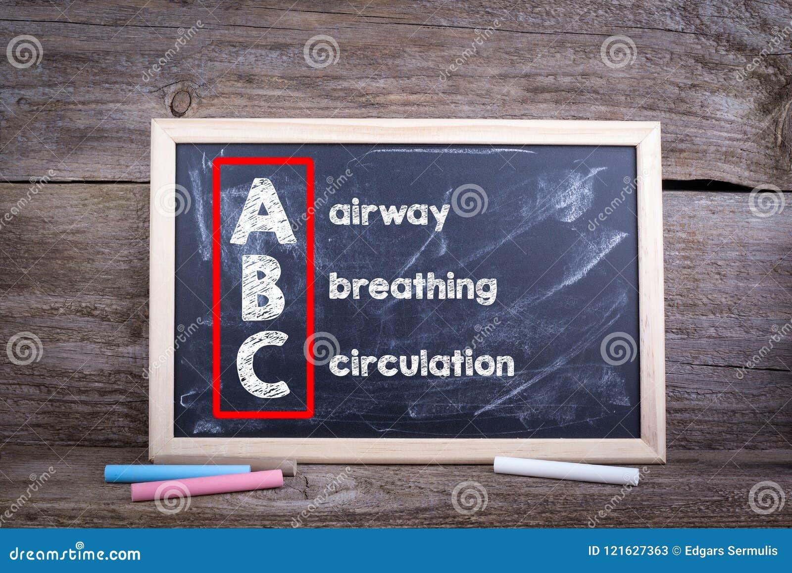 Медицина ABC Авиалиния, дышать и циркуляция