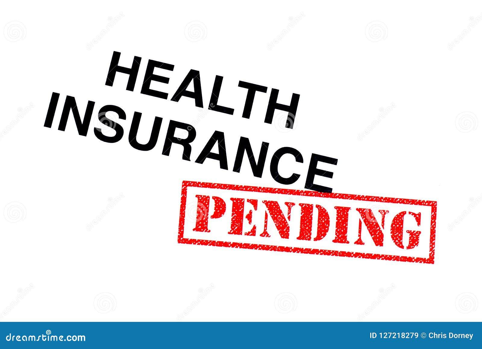 Медицинская страховка ожидающая решения
