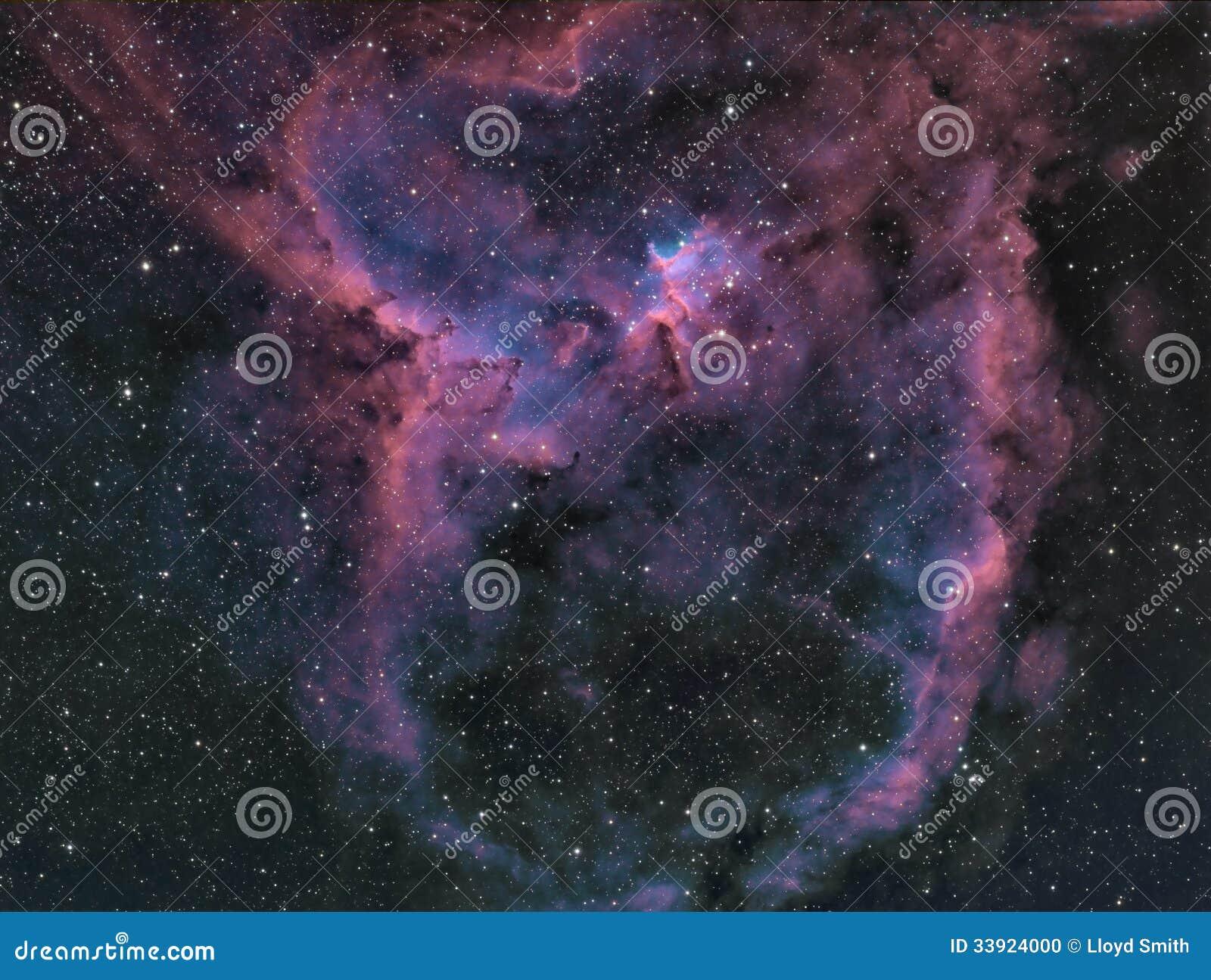 Межзвёздное облако сердца