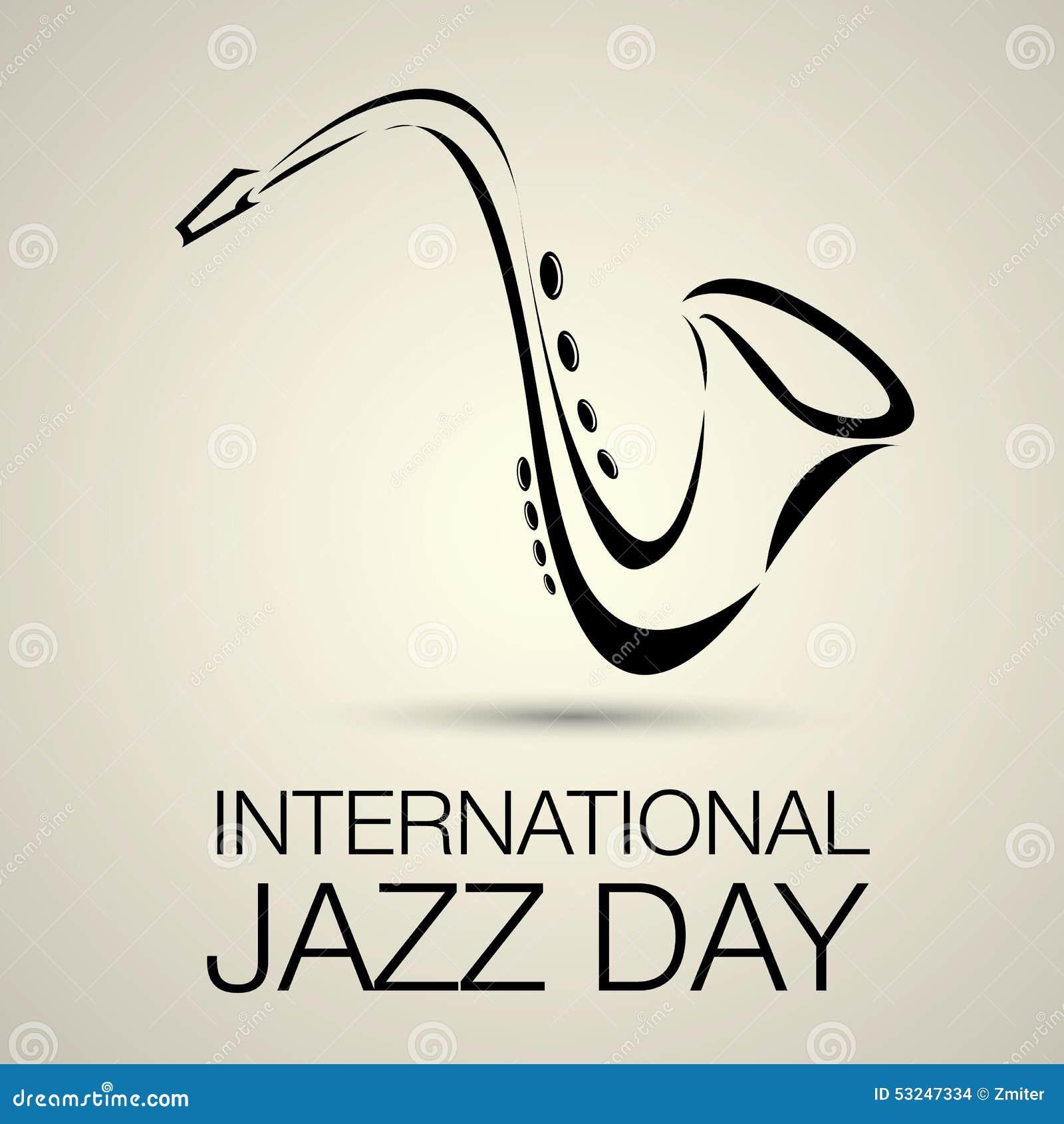 Международный вектор дня джаза