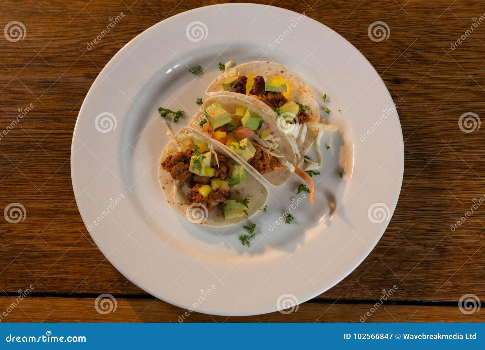 Мексиканские тако в плите