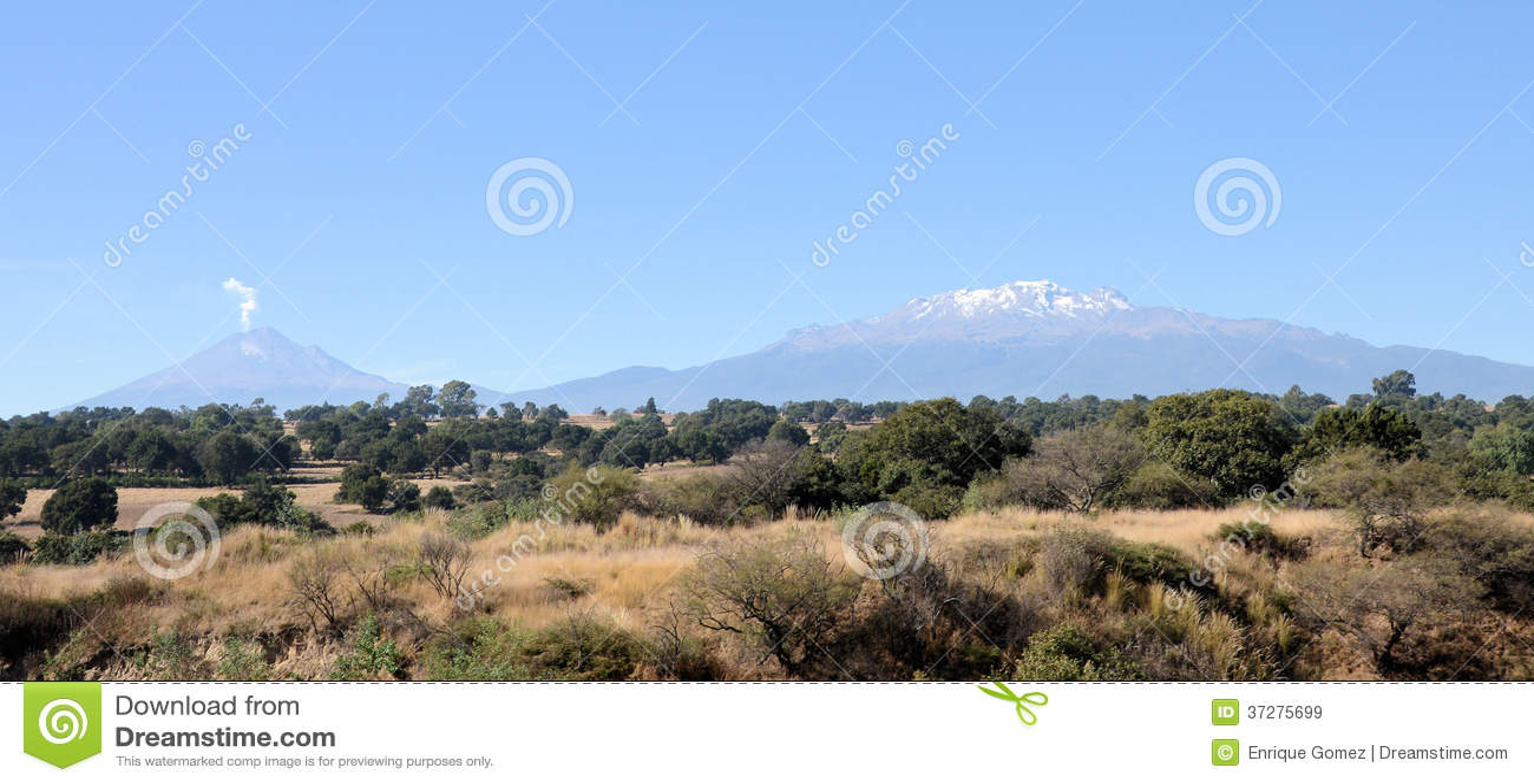 Мексиканский ландшафт