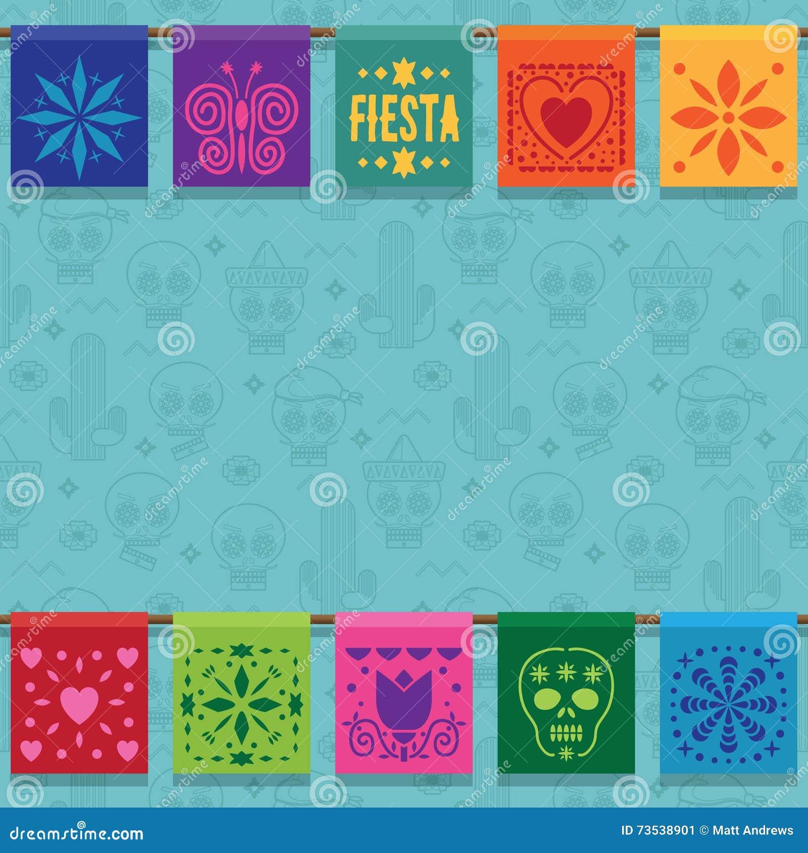 Мексиканский орнамент овсянки