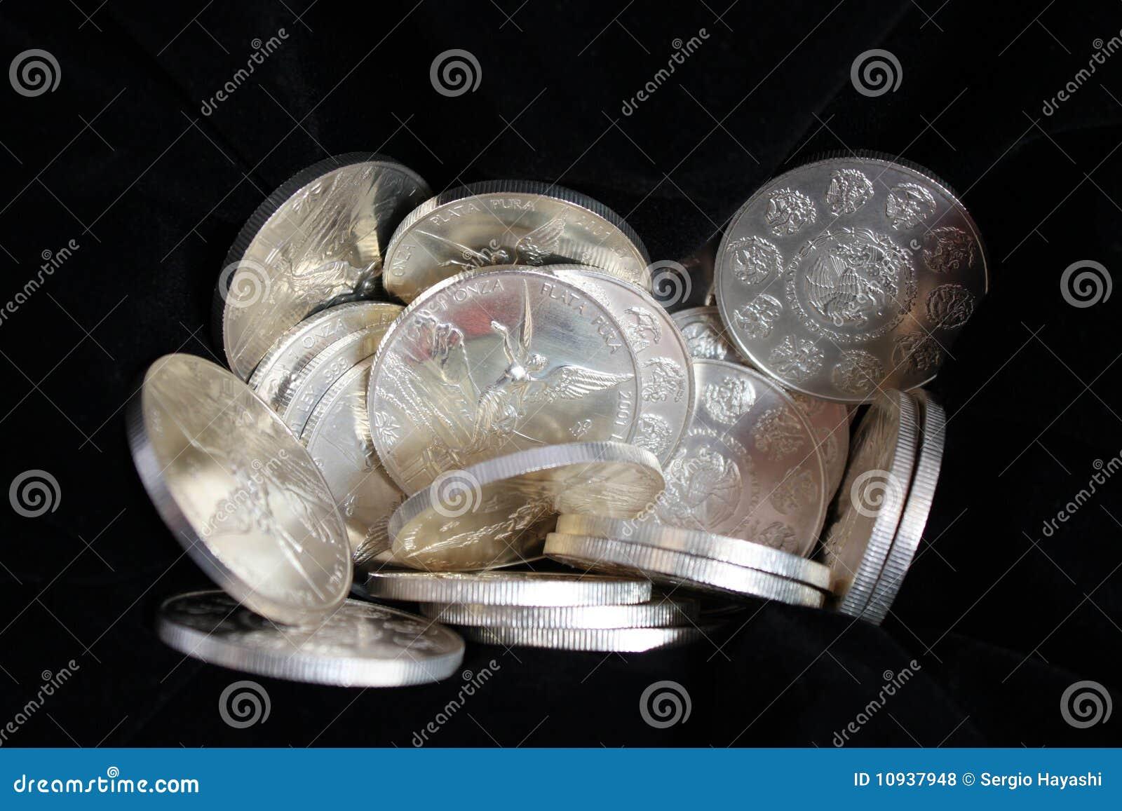 мексиканский чисто серебр 999