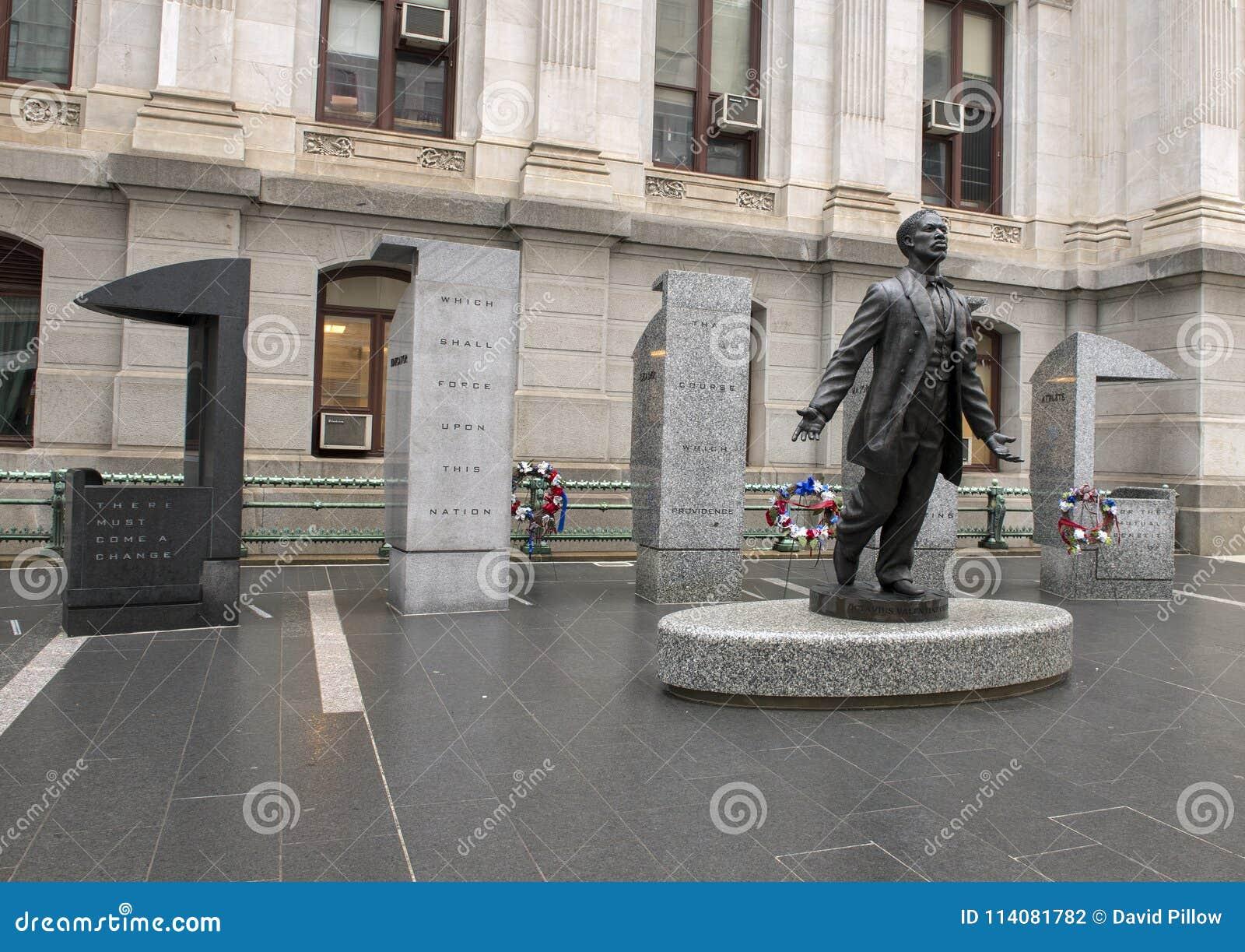Мемориал Catto валентинки Octavius, здание муниципалитет, Philadephia