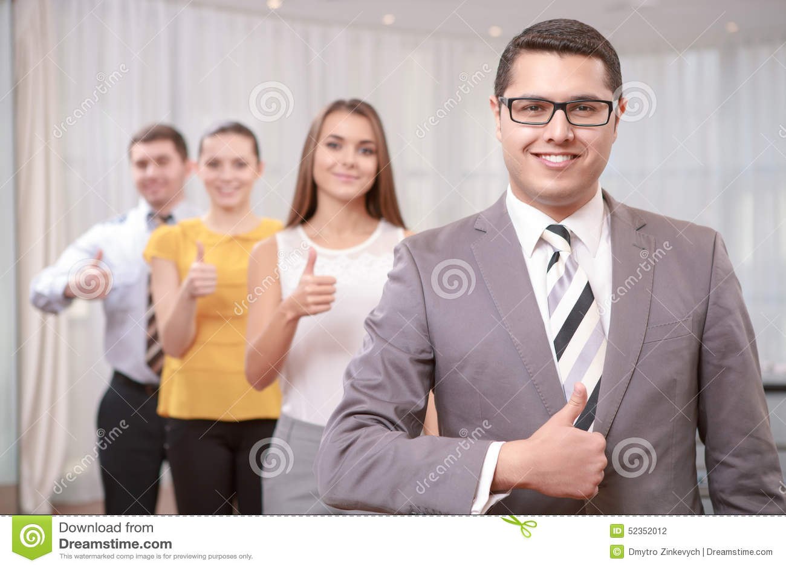 Менеджер высшего звена на встрече