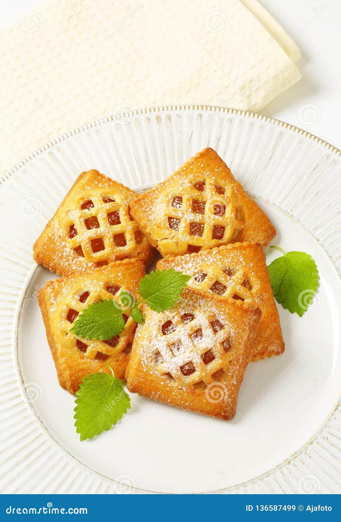 Меньшие пироги абрикоса