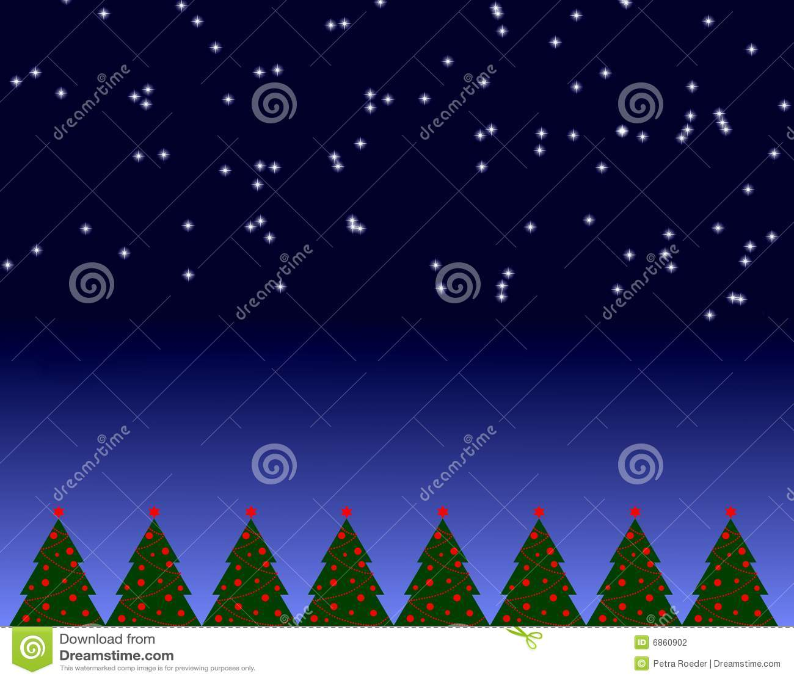 место ночи рождества