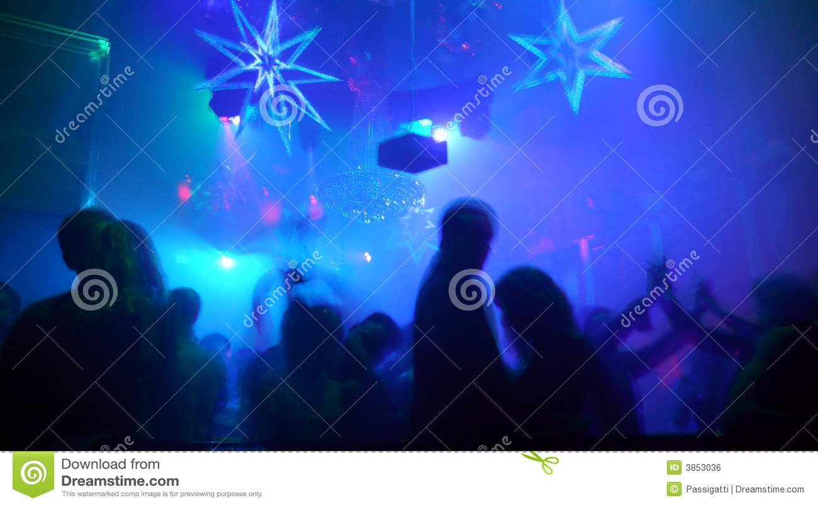 место ночного клуба