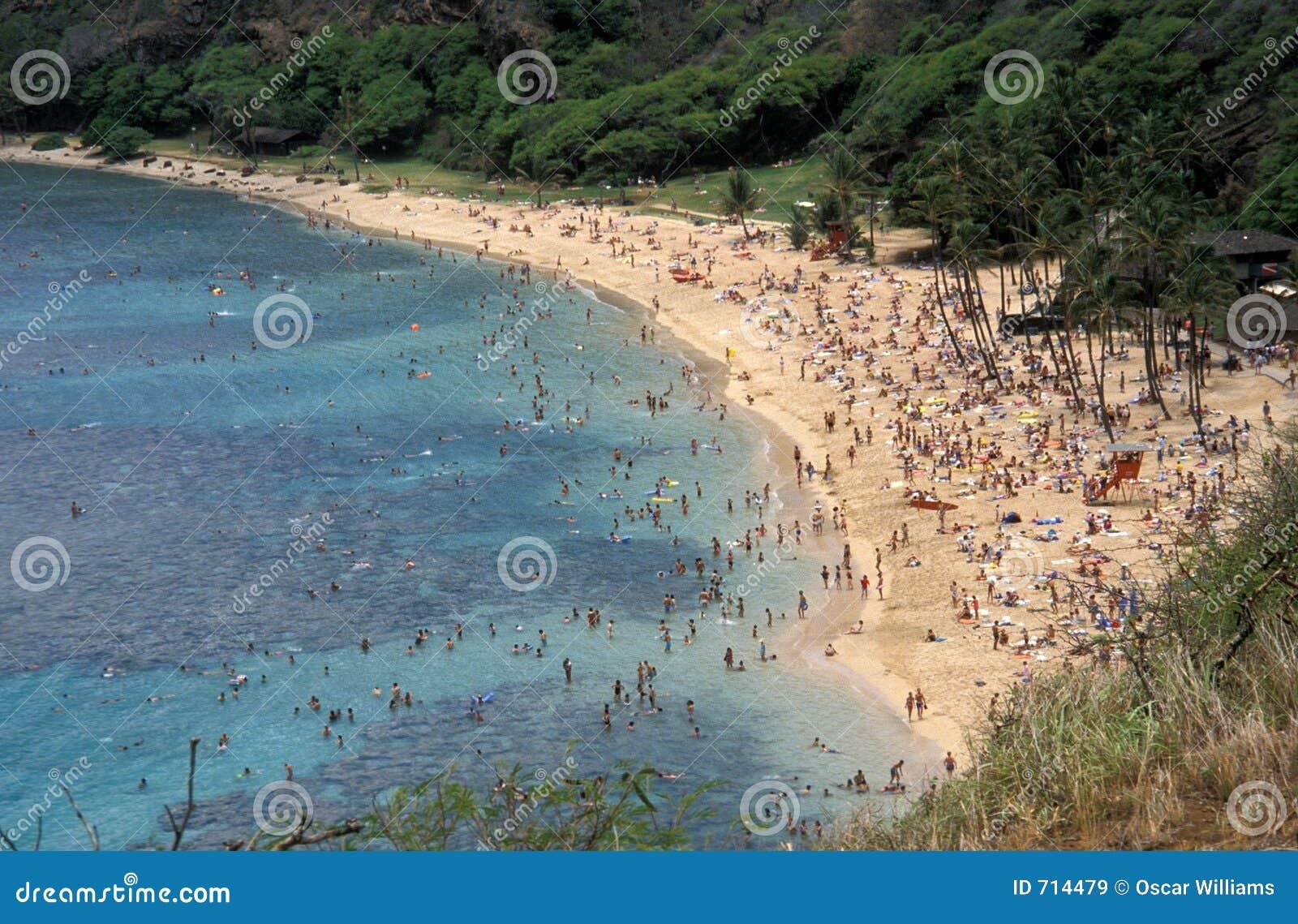 место пляжа