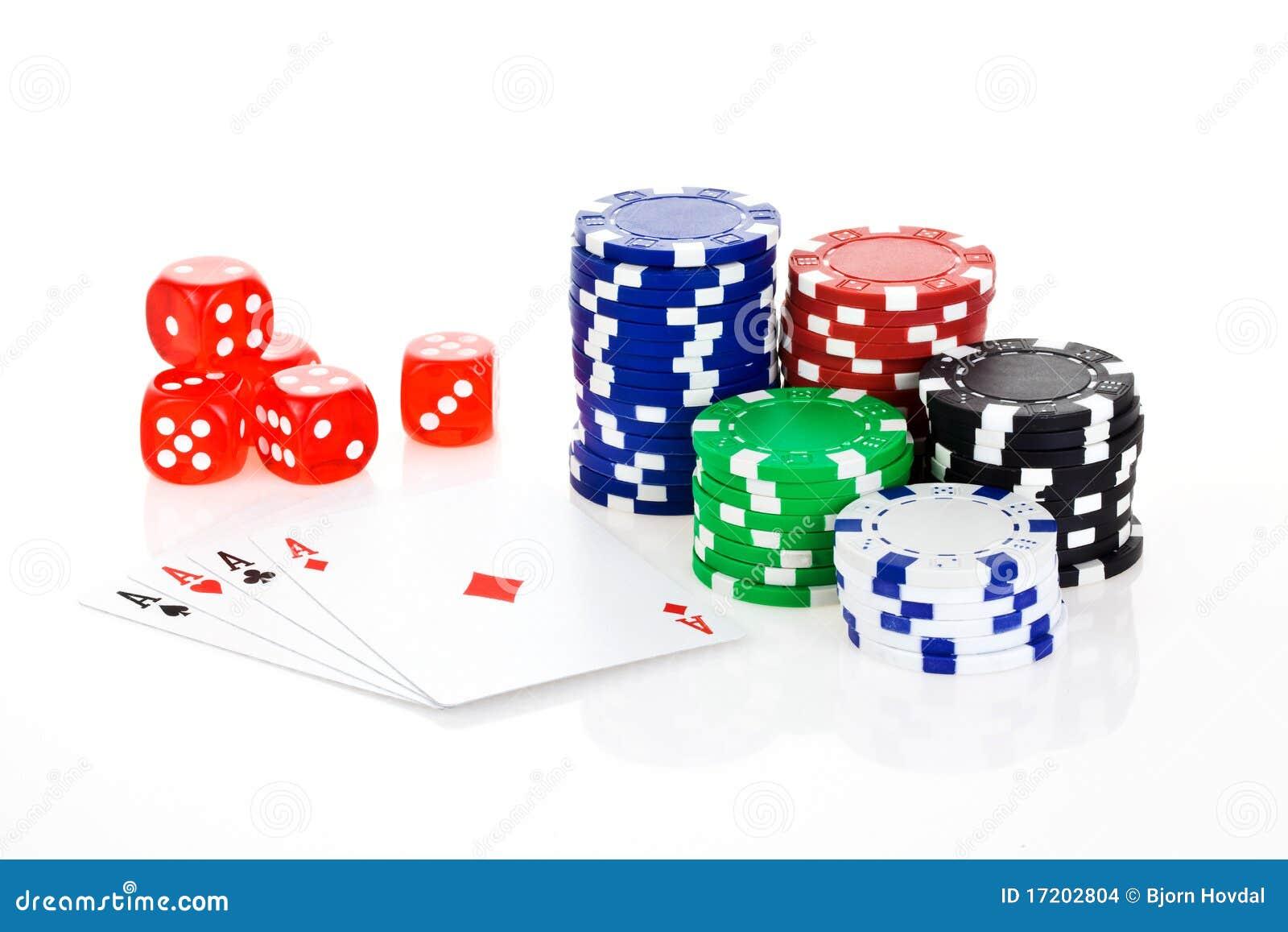 место покера