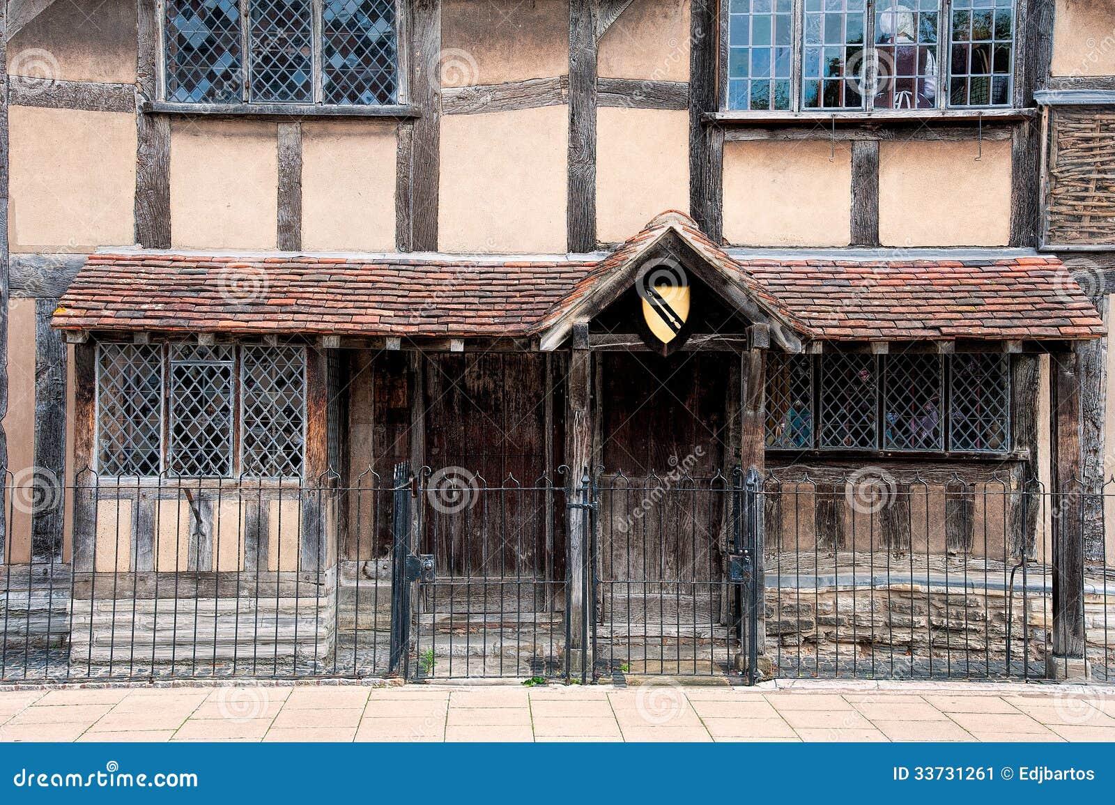 Место рождения Шекспир