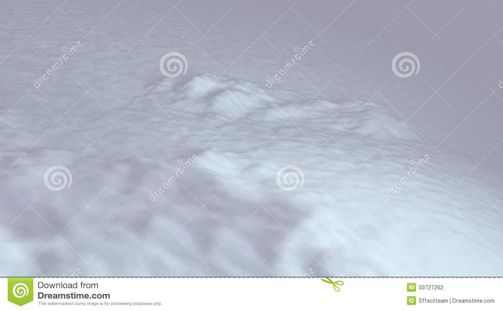 Место хлопь снежка