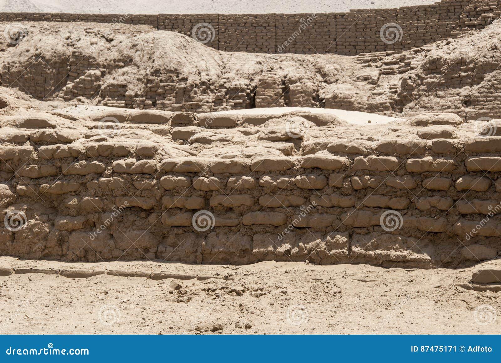 Место Chan Chan археологическое в Trujillo - Salaverry Перу
